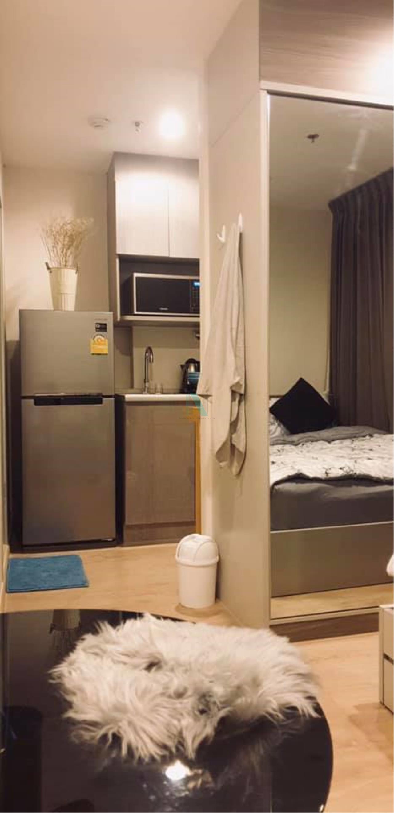 NOPPON REAL ESTATE CO.,LTD.  Agency's For rent Ideo Sathorn-Thaphra STUDIO Floor 26 near BTS Pho Nimit. 2