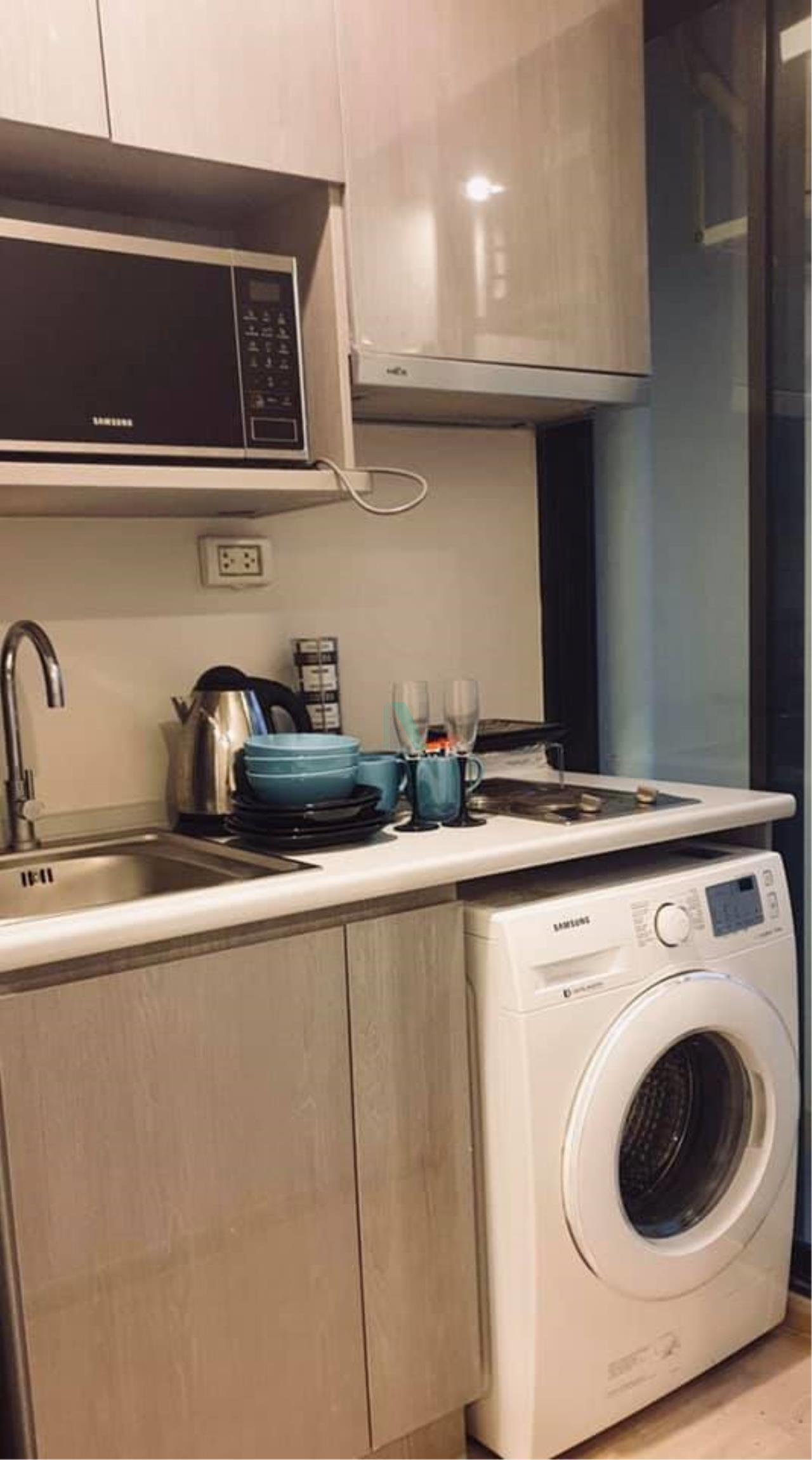 NOPPON REAL ESTATE CO.,LTD.  Agency's For rent Ideo Sathorn-Thaphra STUDIO Floor 26 near BTS Pho Nimit. 7