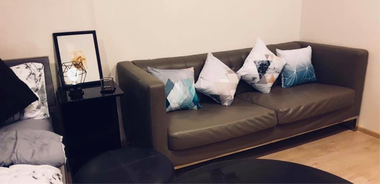 NOPPON REAL ESTATE CO.,LTD.  Agency's For rent Ideo Sathorn-Thaphra STUDIO Floor 26 near BTS Pho Nimit. 8
