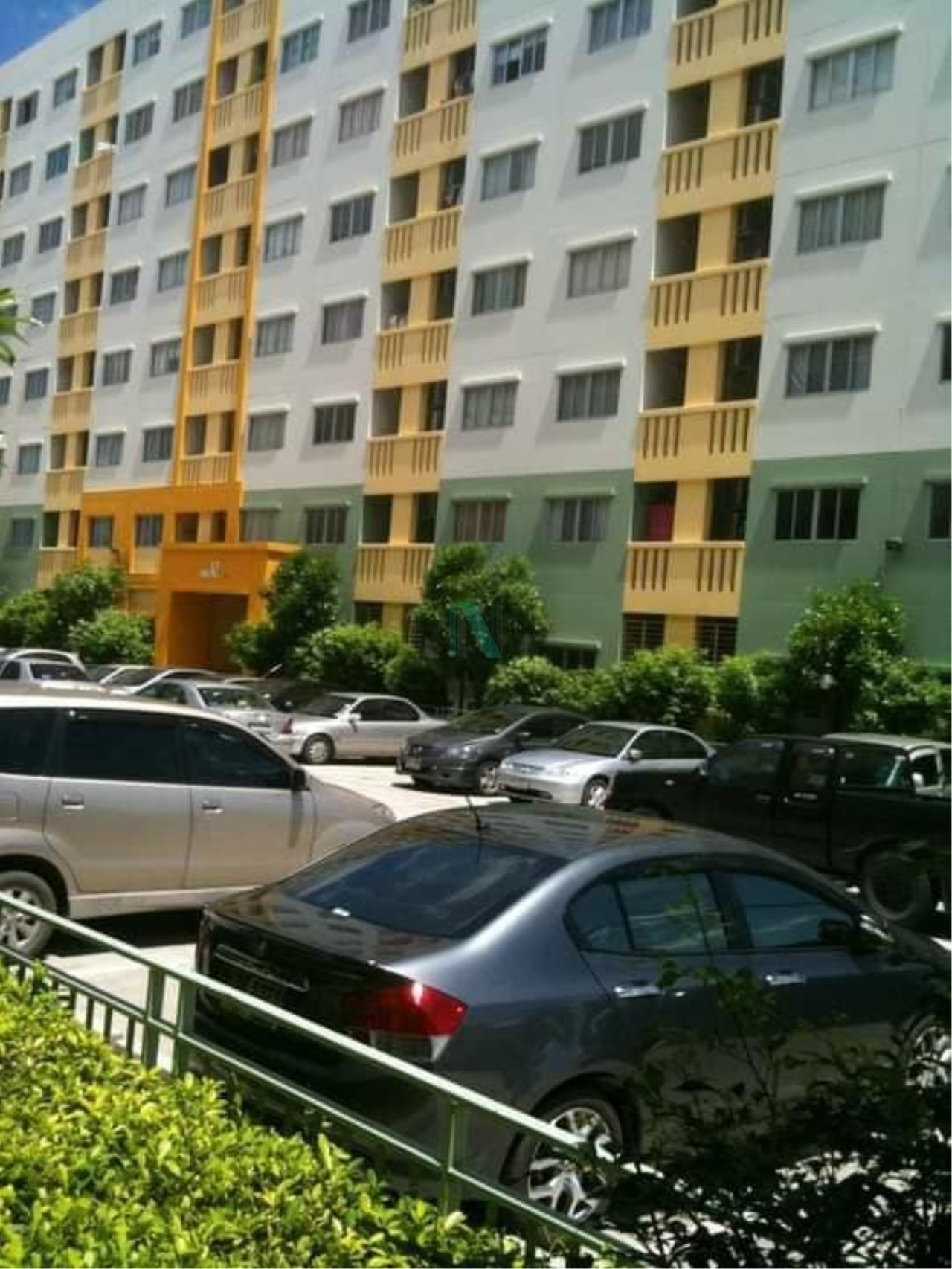 NOPPON REAL ESTATE CO.,LTD.  Agency's For rent LUMPINI CONDOTOWN RATTANA THIBET 1 bedroom 1st floor Building B1. 6