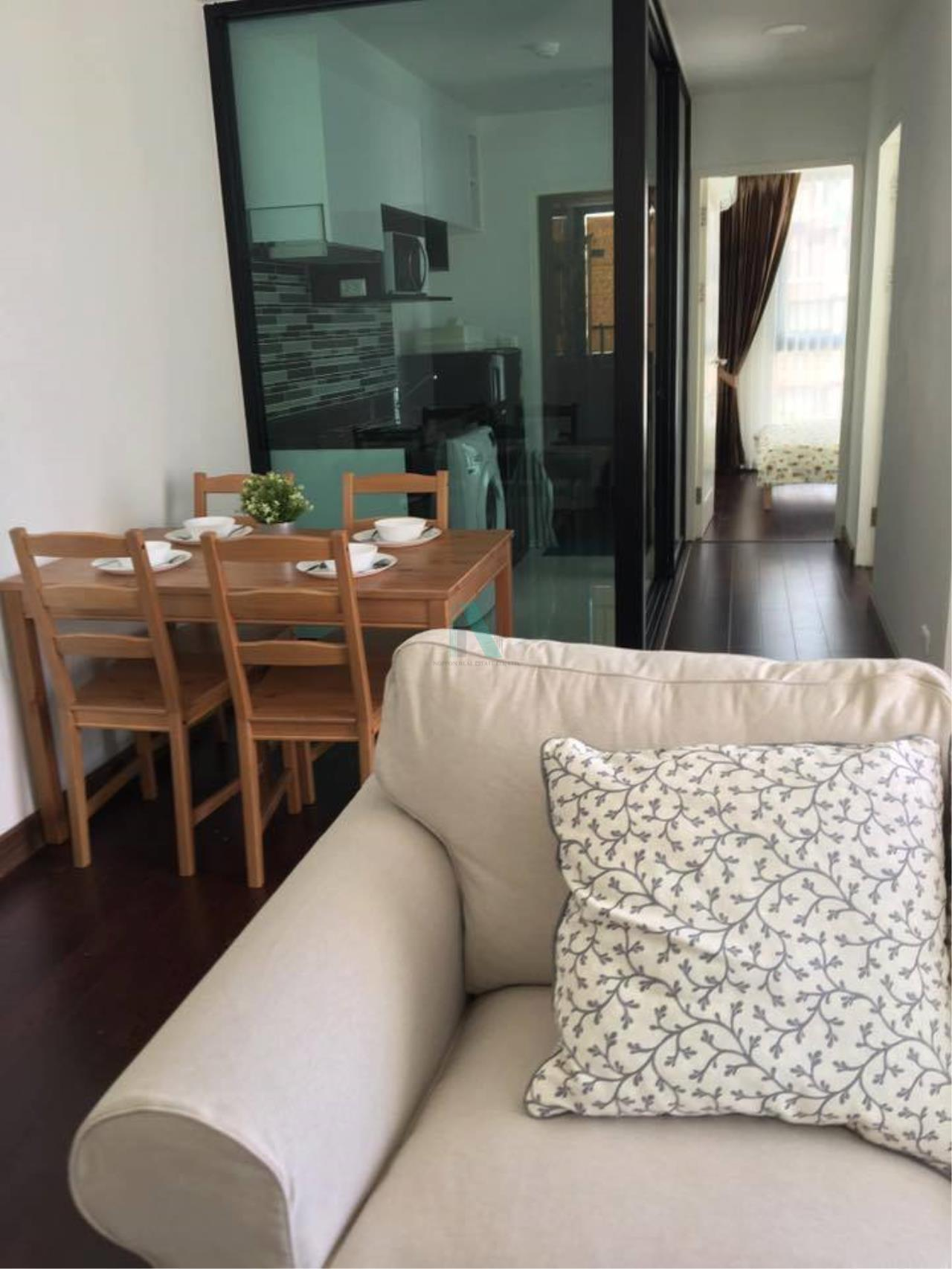 NOPPON REAL ESTATE CO.,LTD.  Agency's For rent BANGKOK FELIZ SATHORN-TAKSIN 2 bedroom 4th floor near BTS Krung Thon Buri. 5