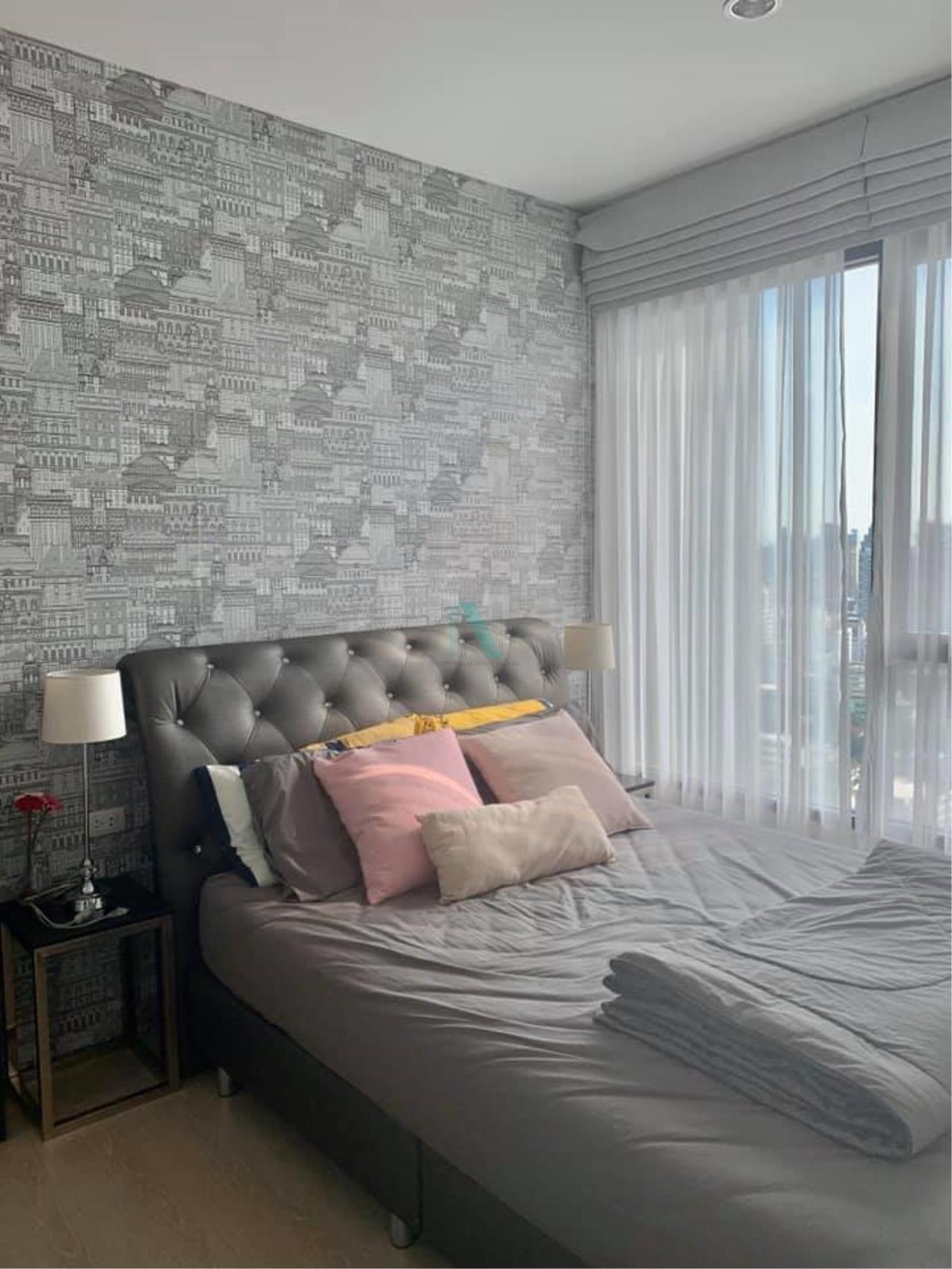 NOPPON REAL ESTATE CO.,LTD.  Agency's For Rent The Niche Pride Thonglor-Phetchaburi 1 Bedroom Floor 28 near MRT Phetchaburi. 3