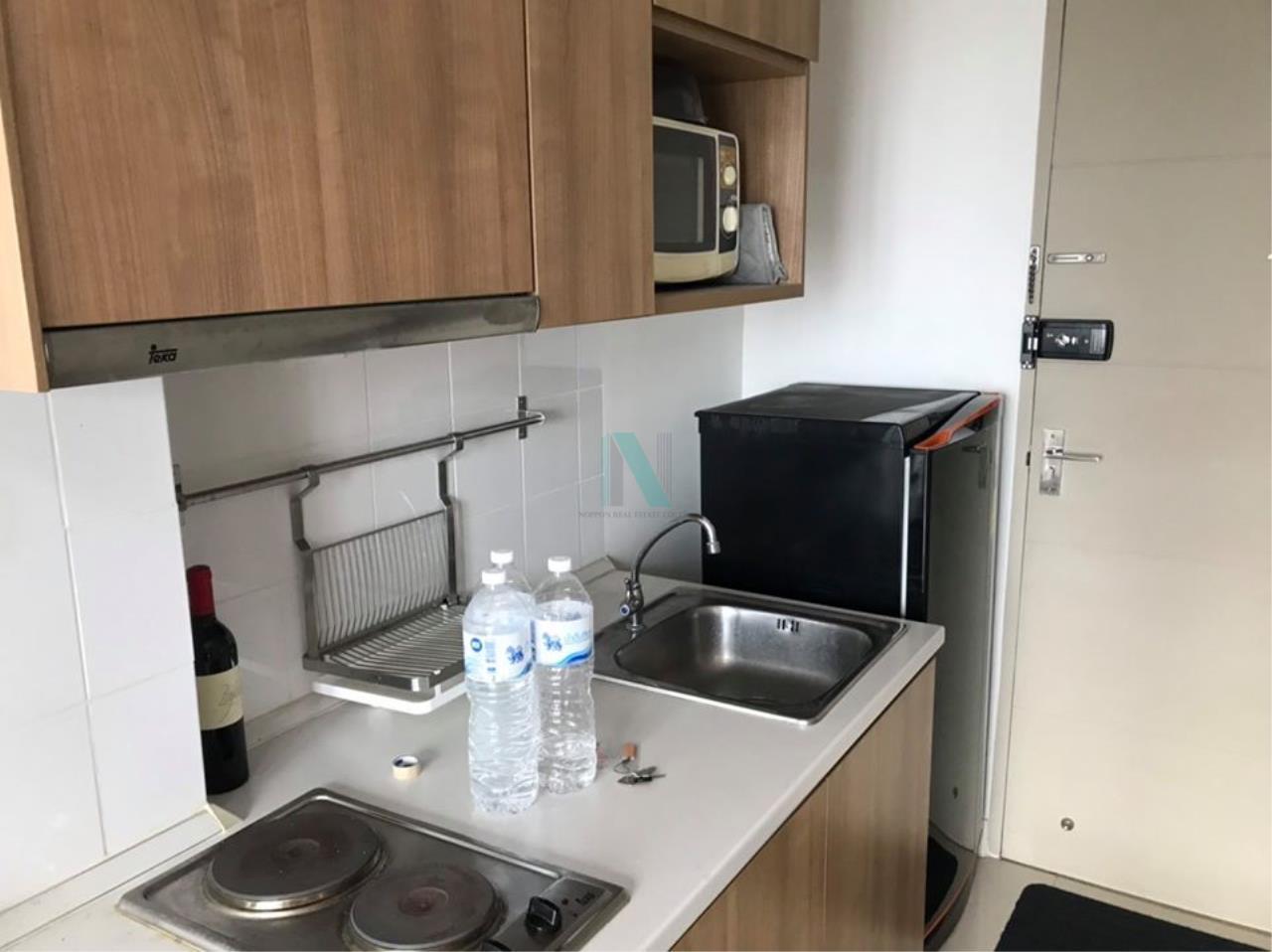 NOPPON REAL ESTATE CO.,LTD.  Agency's For rent Ideo Mix Sukhumvit 103 1 bedroom 17th floor Building B near BTS Udom Suk. 7