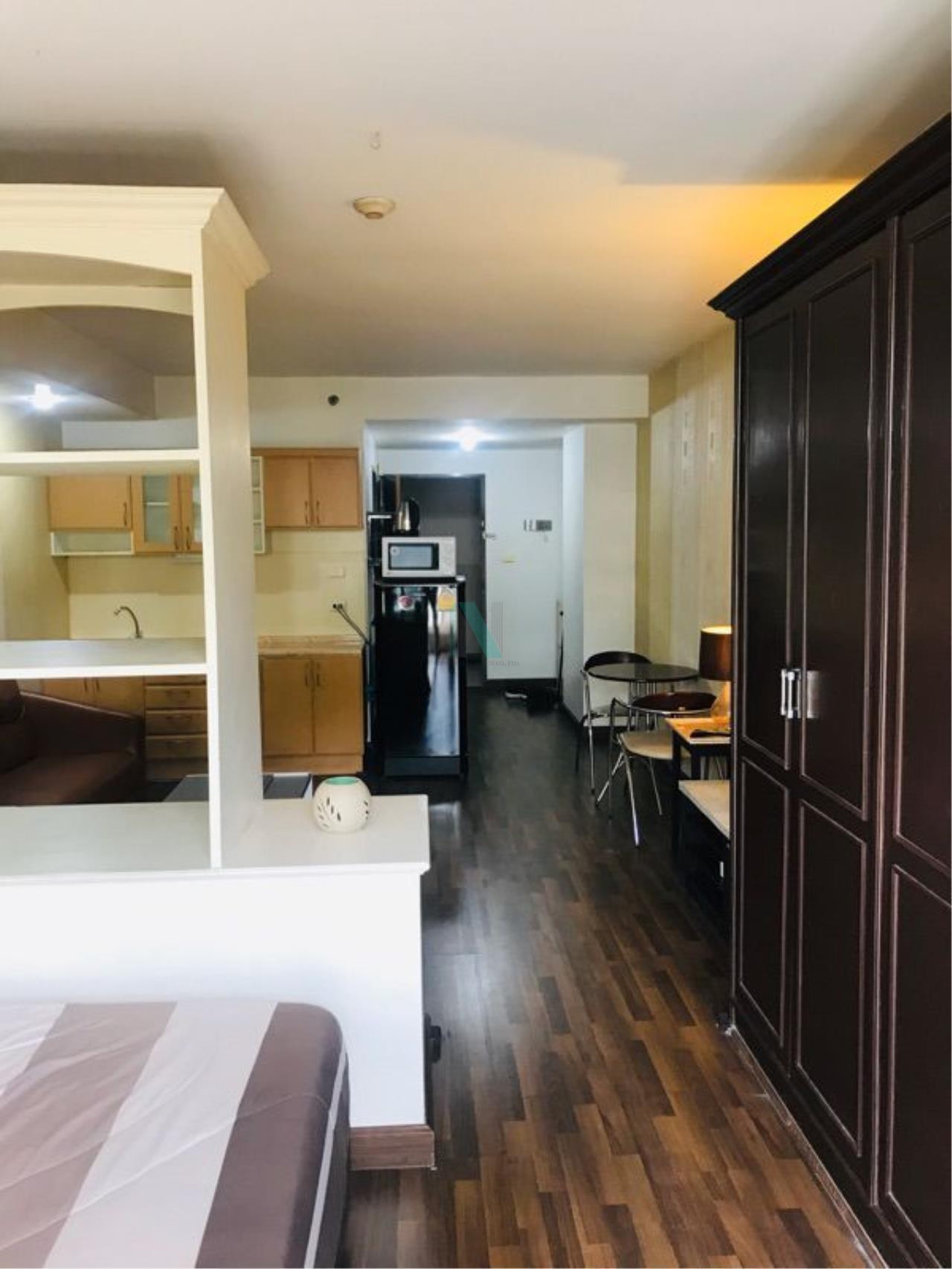 NOPPON REAL ESTATE CO.,LTD.  Agency's For rent Supalai Park Phahonyothin 21 STUDIO 7th Floor Building 2 near Phahonyothin MRT. 4