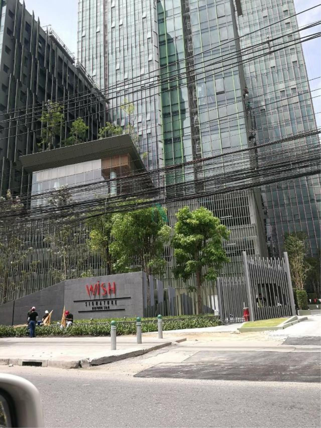 NOPPON REAL ESTATE CO.,LTD.  Agency's For Rent Wish Signature at Midtown Siam 1 bedroom 12A floor near BTS Ratchathewi. 8