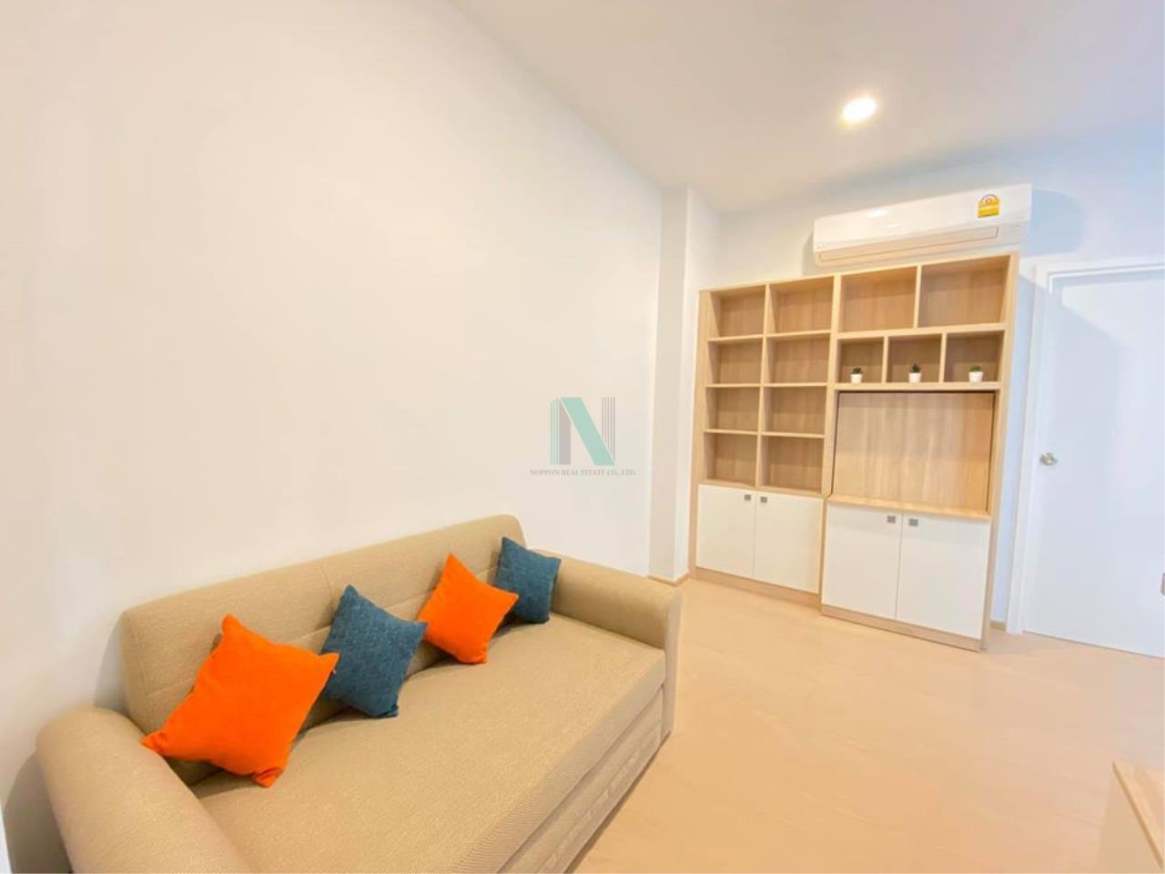 NOPPON REAL ESTATE CO.,LTD.  Agency's For Rent The Tree Sukhumvit 71-Ekkamai 1 Bedroor 23rd Floor. 1