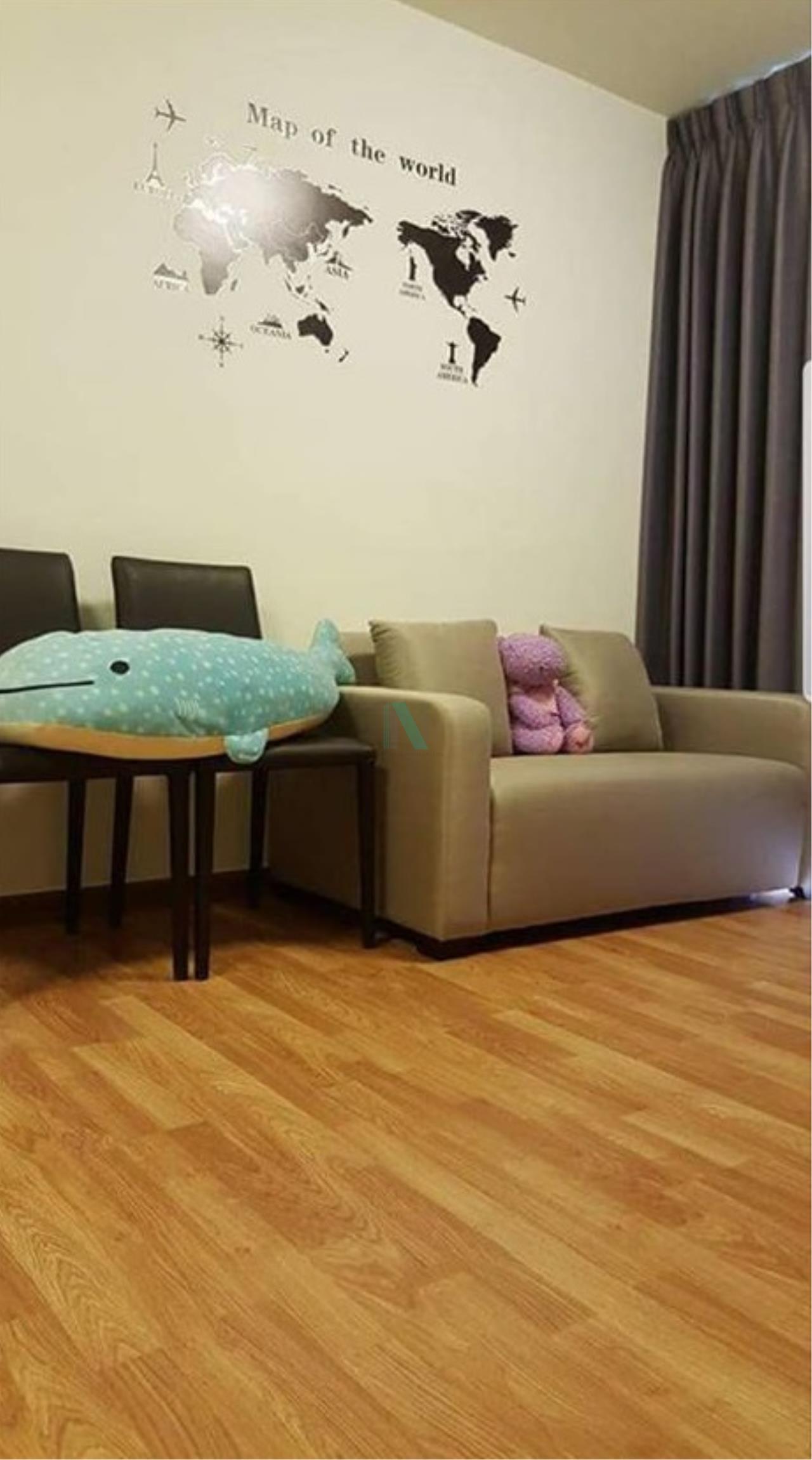 NOPPON REAL ESTATE CO.,LTD. Agency's For Rent The Trust Ngamwongwan 1 Bedroom 24th Floor near MRT Government Center. 3