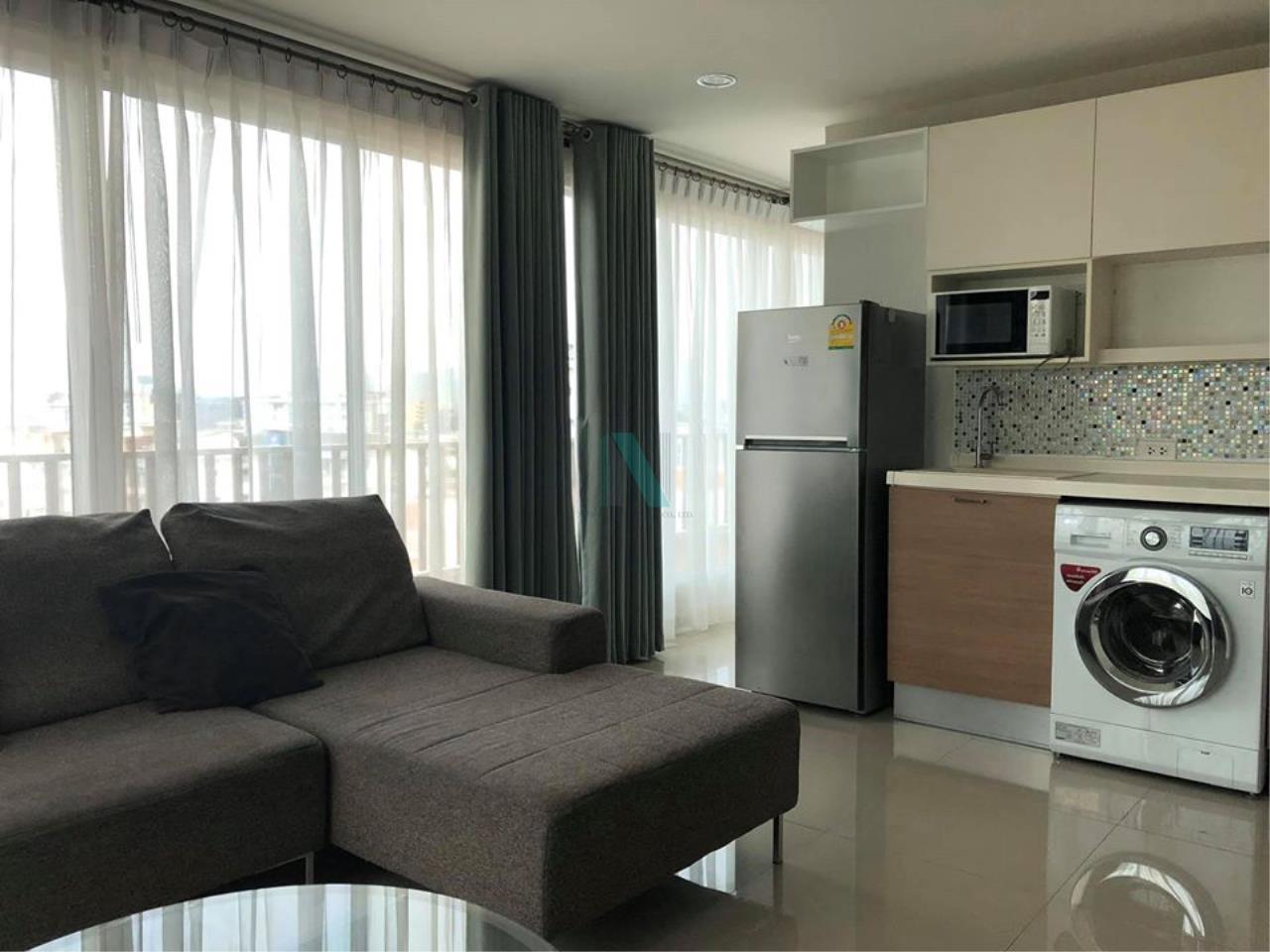 NOPPON REAL ESTATE CO.,LTD.  Agency's For rent HUMBLE LIVING @ YUYEN 2 bedroom 8th floor near MRT Sutthisan 1