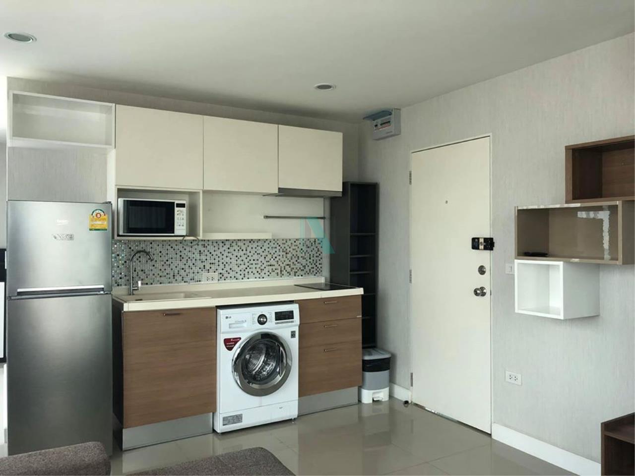 NOPPON REAL ESTATE CO.,LTD.  Agency's For rent HUMBLE LIVING @ YUYEN 2 bedroom 8th floor near MRT Sutthisan 2