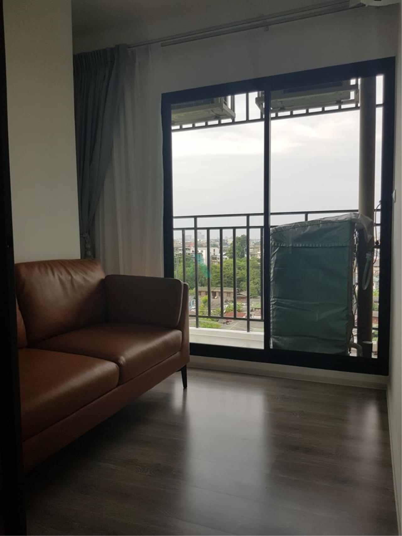 NOPPON REAL ESTATE CO.,LTD.  Agency's For rent Kensington Sukhumvit - Thepharak 1 bedroom 7th floor near BTS Samrong. 2