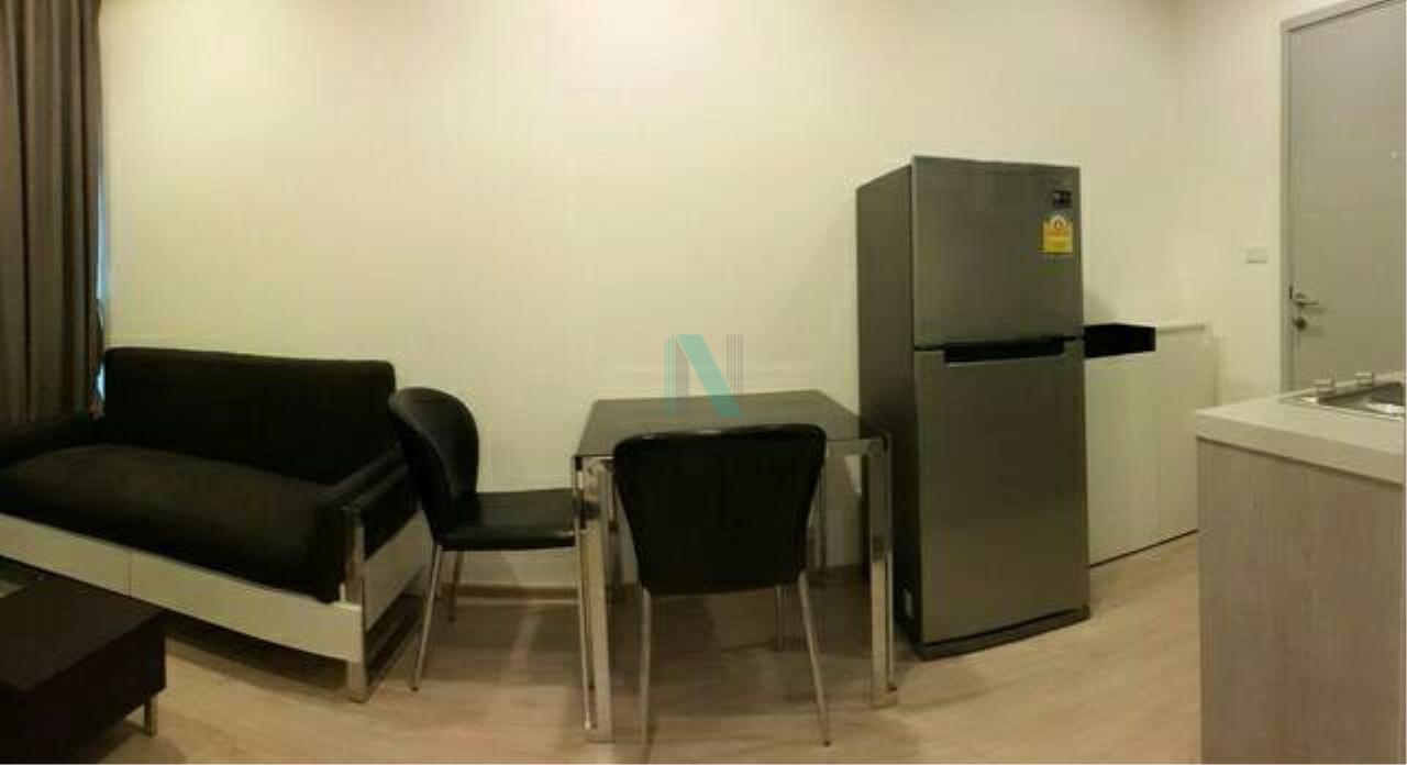 NOPPON REAL ESTATE CO.,LTD.  Agency's For rent Ideo Wutthakat 1 bedroom 6th floor near BTS Wutthakat. 2