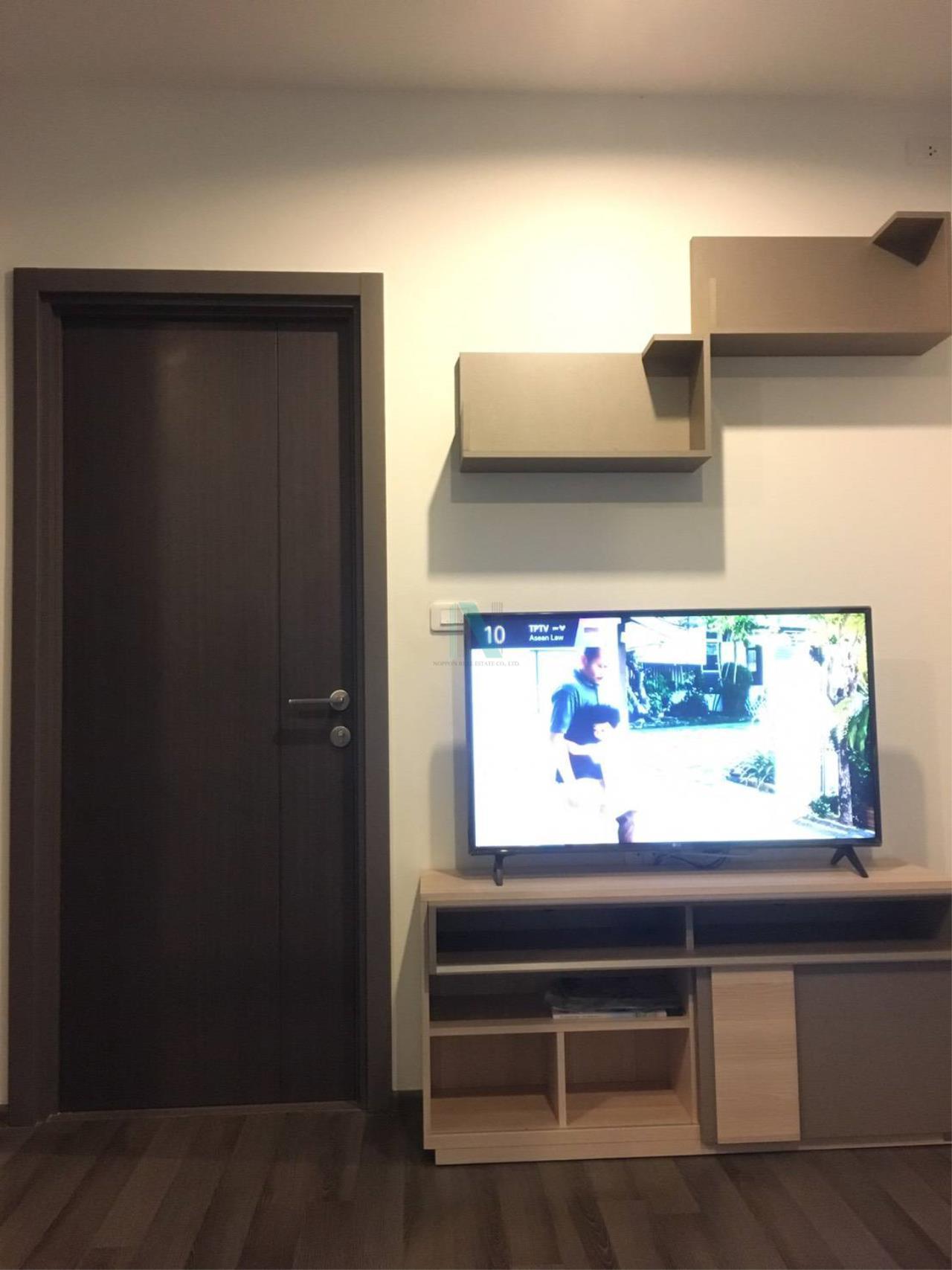 NOPPON REAL ESTATE CO.,LTD.  Agency's For rent The Base Park West Sukhumvit 77 1 bedroom 19th floor near BTS On Nut. 3