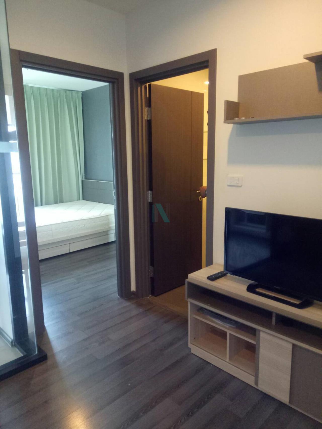NOPPON REAL ESTATE CO.,LTD.  Agency's For rent The Base Park West Sukhumvit 77 1 bedroom 19th floor near BTS On Nut. 7