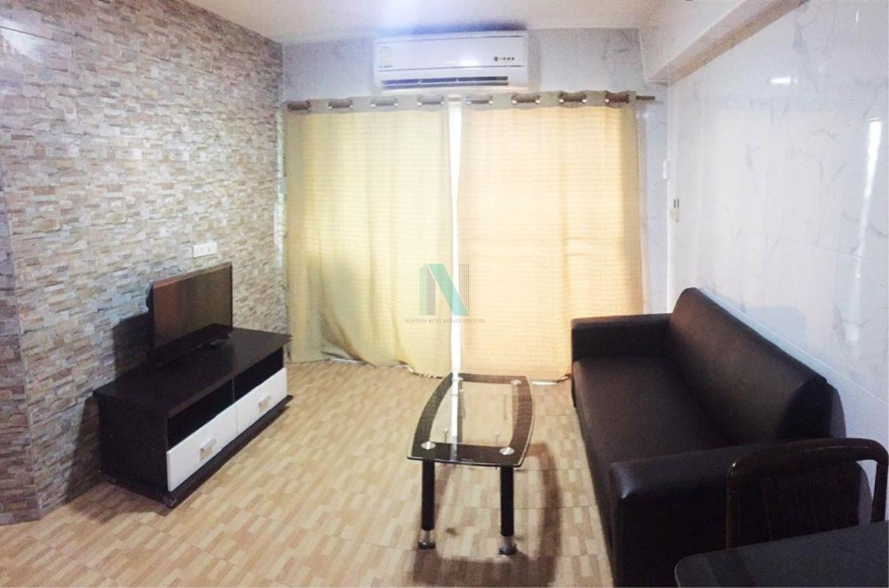 NOPPON REAL ESTATE CO.,LTD. Agency's For rent Thonglor Tower 2 bedrooms 15th floor Building B near BTS Thong Lo. 1