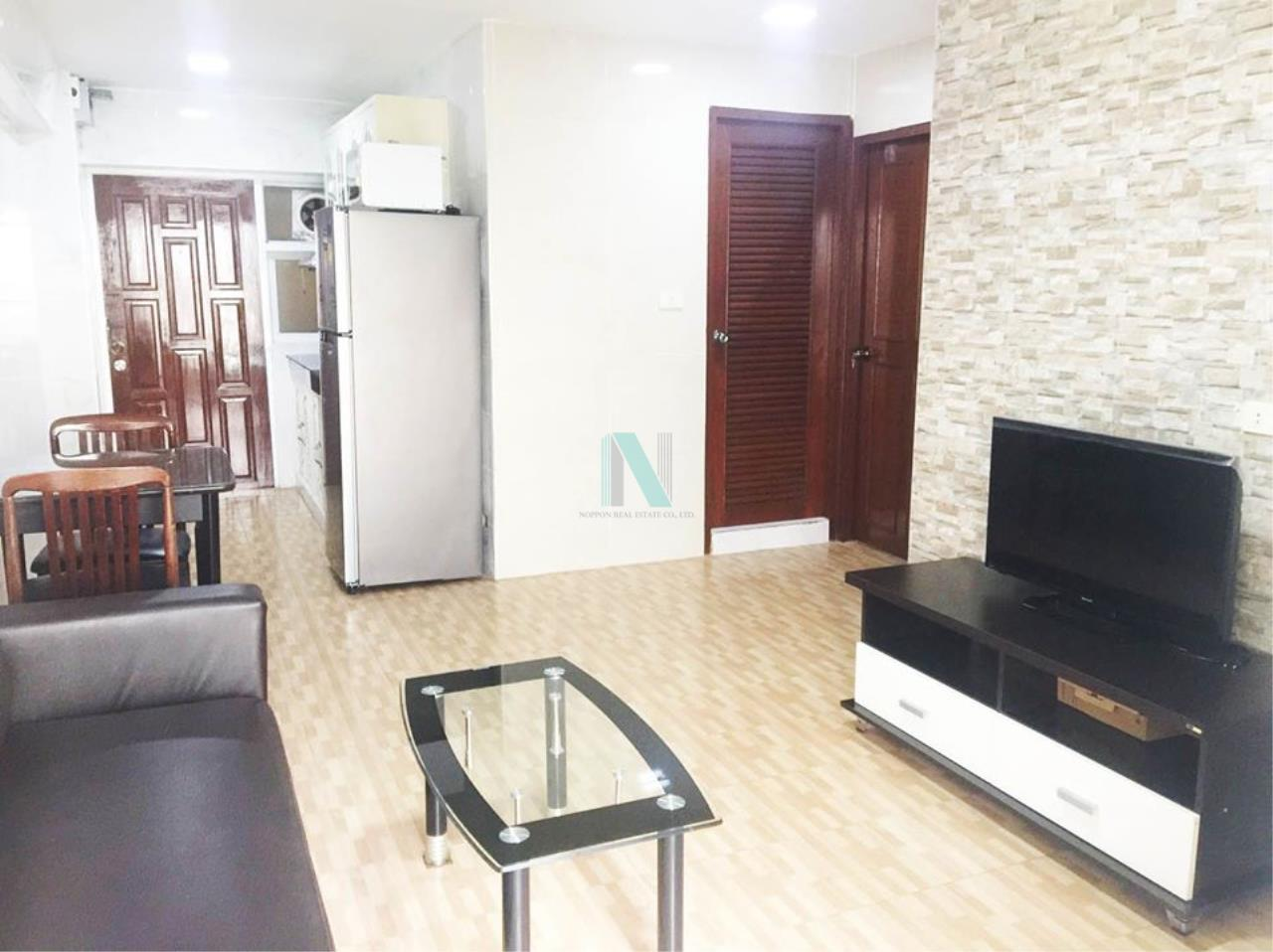 NOPPON REAL ESTATE CO.,LTD. Agency's For rent Thonglor Tower 2 bedrooms 15th floor Building B near BTS Thong Lo. 7