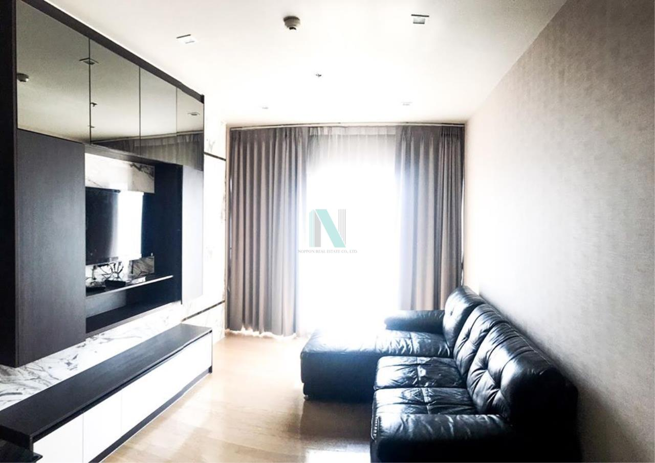 NOPPON REAL ESTATE CO.,LTD.  Agency's For rent Noble Refine 1 bedroom 18th floor near BTS Phrom Phong. 3
