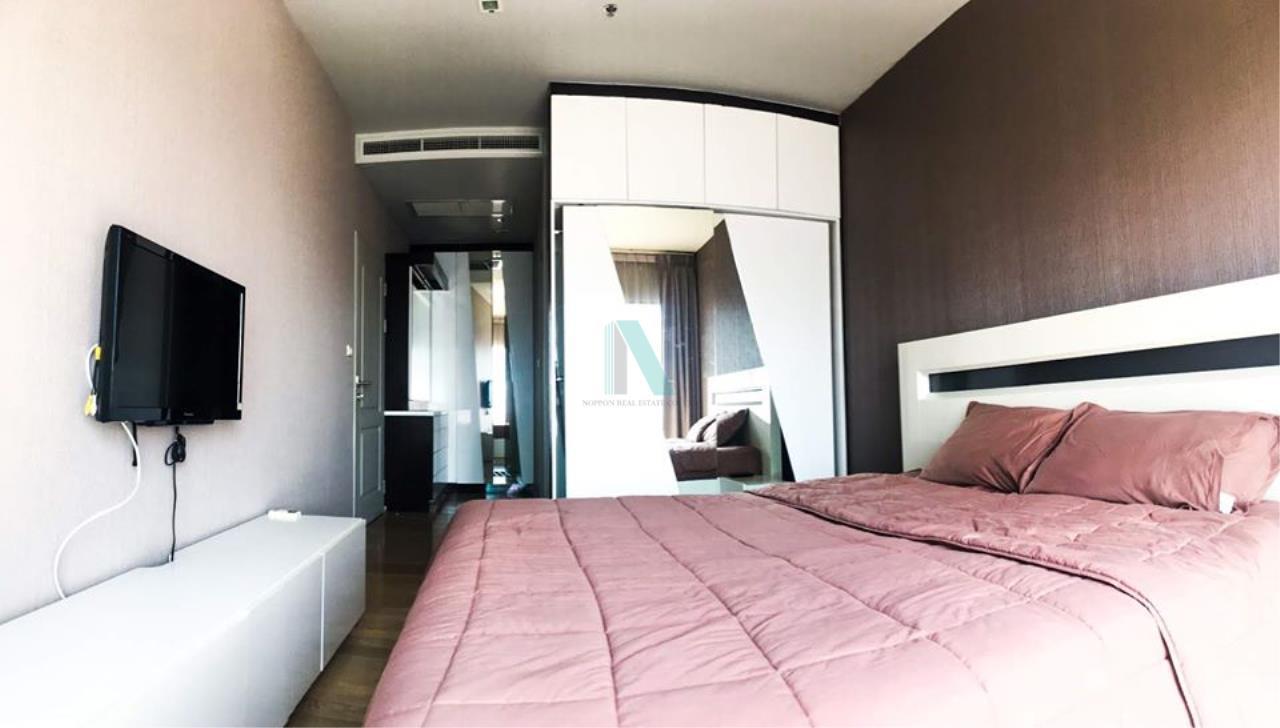 NOPPON REAL ESTATE CO.,LTD.  Agency's For rent Noble Refine 1 bedroom 18th floor near BTS Phrom Phong. 8