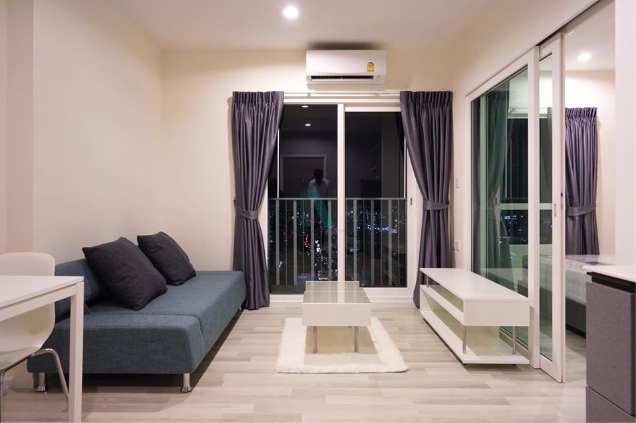 NOPPON REAL ESTATE CO.,LTD. Agency's For rent The Key Sathorn-Charoenrat 1 bedroom 37th floor near BTS Surasak. 2