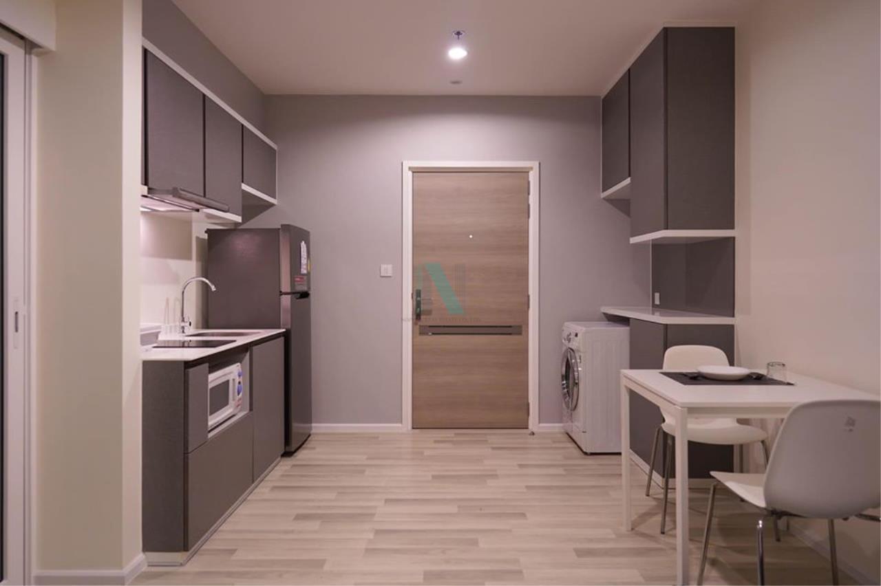 NOPPON REAL ESTATE CO.,LTD. Agency's For rent The Key Sathorn-Charoenrat 1 bedroom 37th floor near BTS Surasak. 4