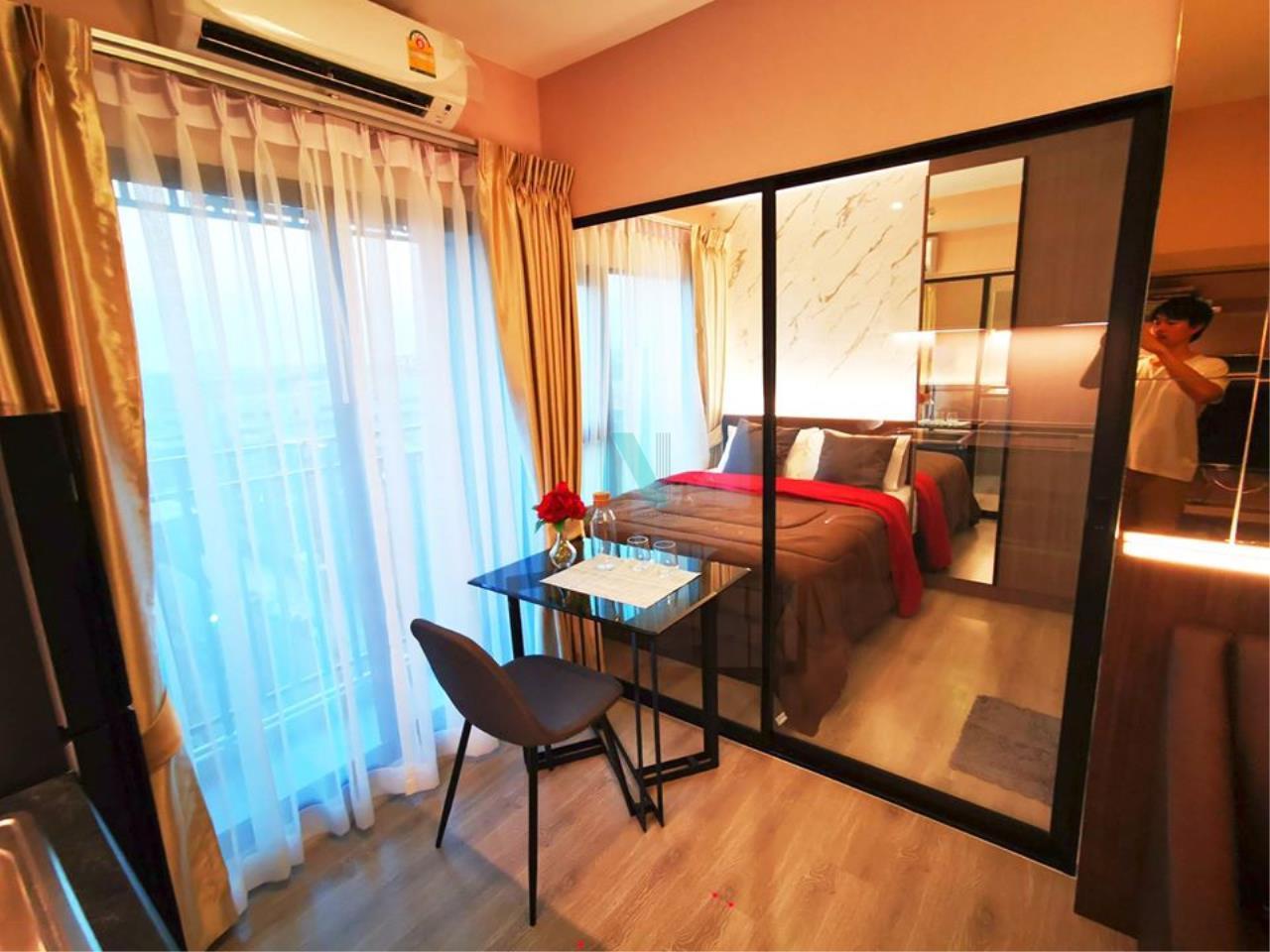 NOPPON REAL ESTATE CO.,LTD. Agency's For Rent Kensington Sukhumvit - Thepharak 1 Bedroom 7th Floor Building A. 4