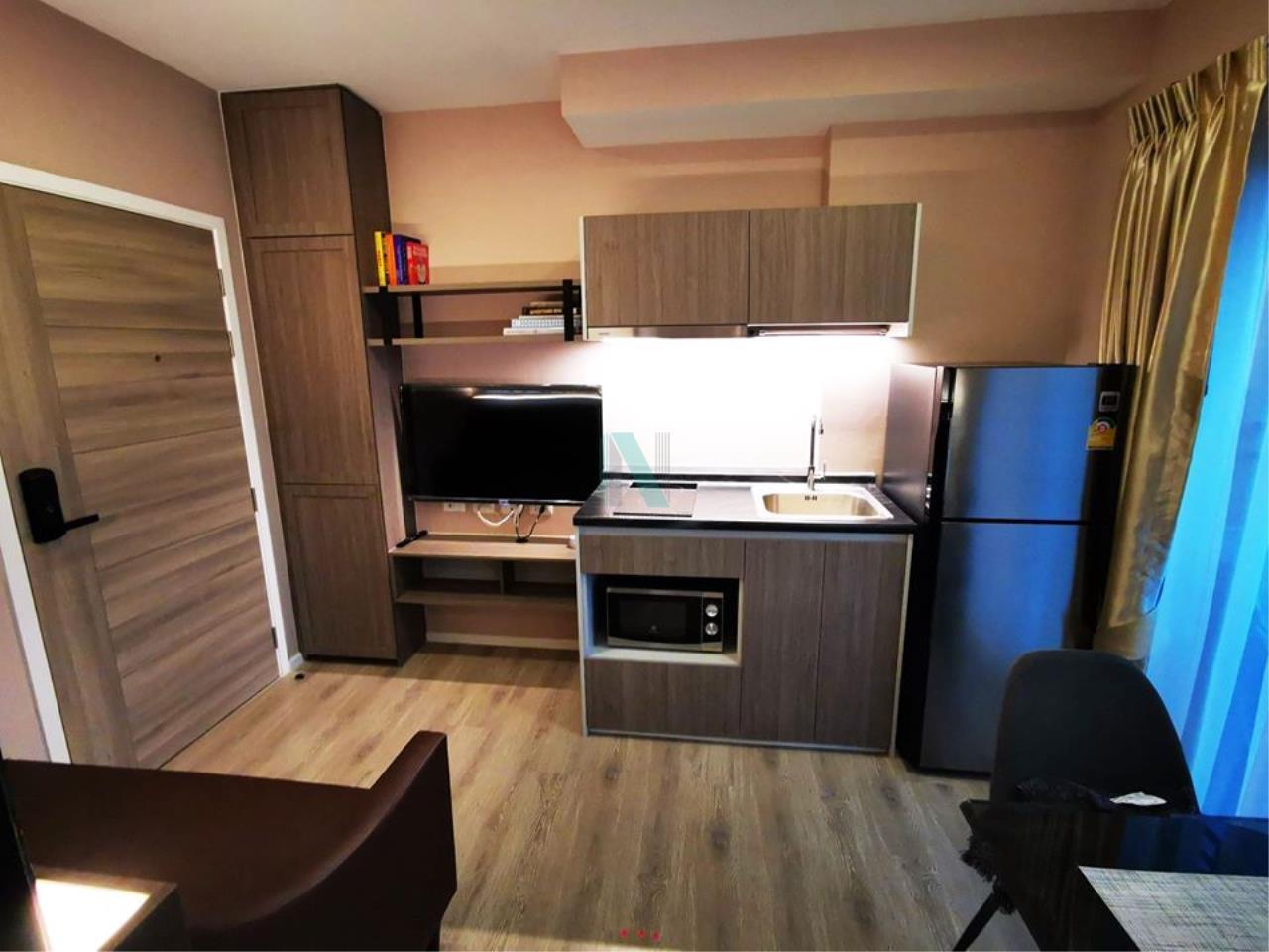 NOPPON REAL ESTATE CO.,LTD. Agency's For Rent Kensington Sukhumvit - Thepharak 1 Bedroom 7th Floor Building A. 5