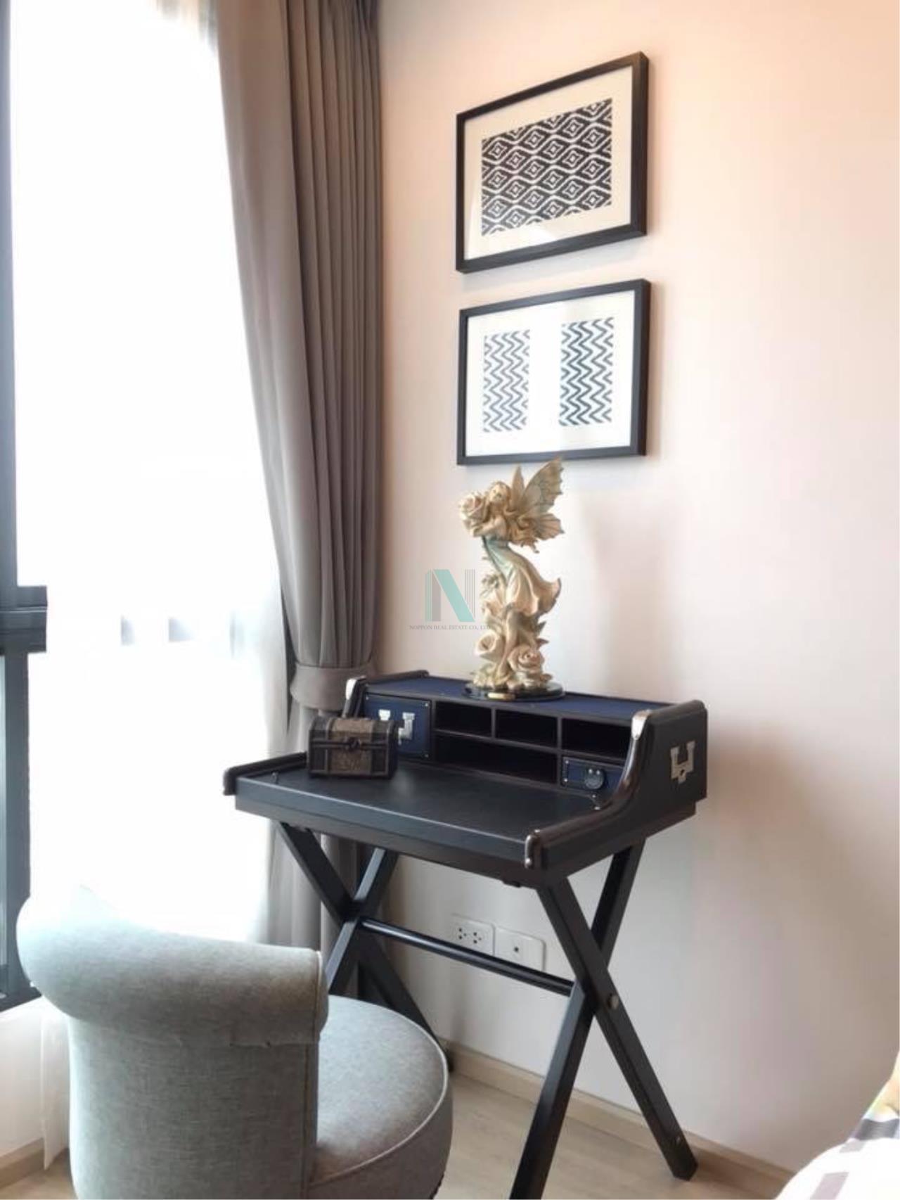 NOPPON REAL ESTATE CO.,LTD. Agency's For rent Ideo Sathorn-Thaphra 1 bedroom 24th floor near BTS Pho Nimit. 3