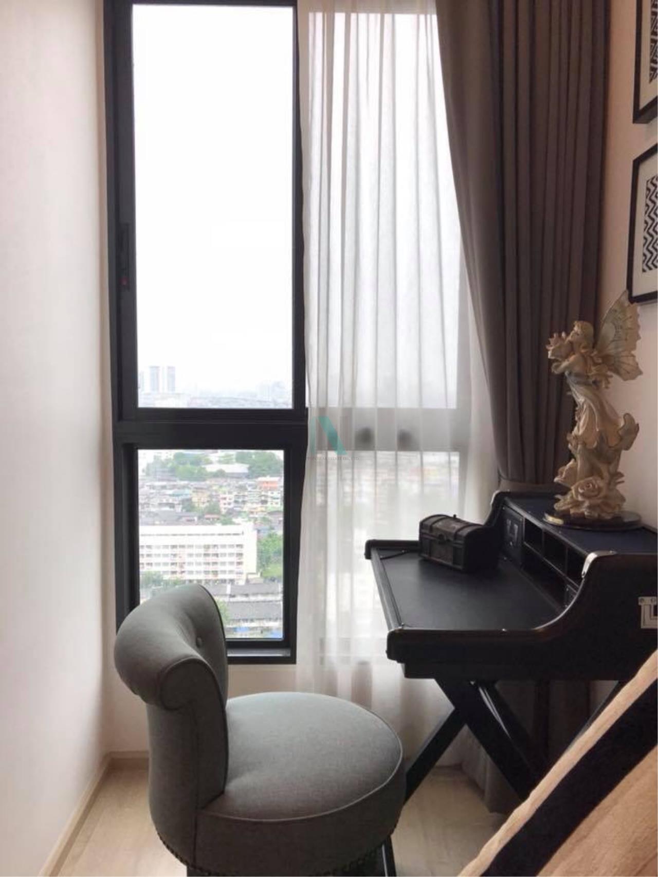 NOPPON REAL ESTATE CO.,LTD. Agency's For rent Ideo Sathorn-Thaphra 1 bedroom 24th floor near BTS Pho Nimit. 4