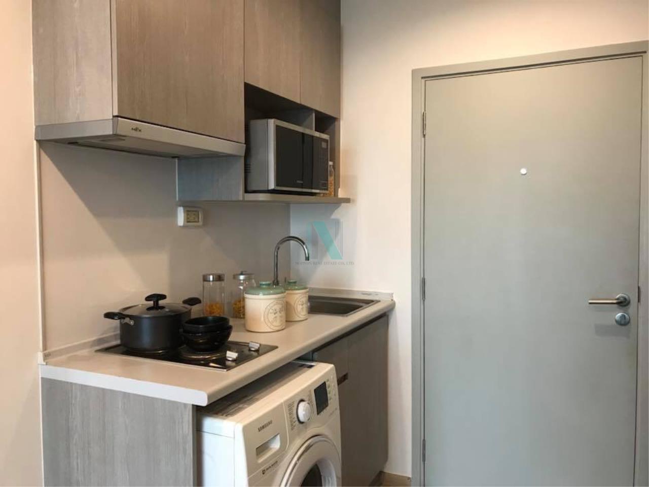 NOPPON REAL ESTATE CO.,LTD. Agency's For rent Ideo Sathorn-Thaphra 1 bedroom 24th floor near BTS Pho Nimit. 5