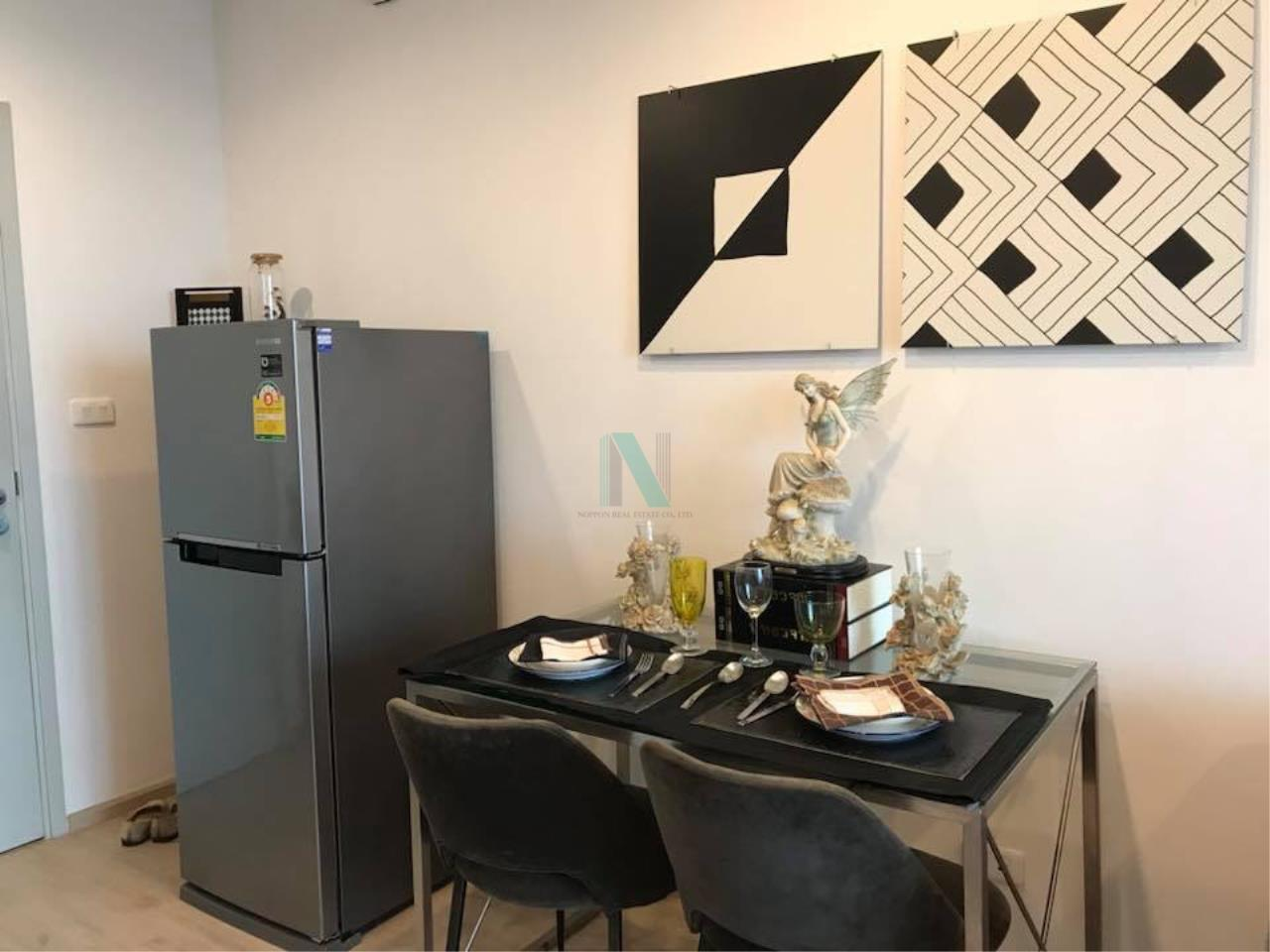 NOPPON REAL ESTATE CO.,LTD. Agency's For rent Ideo Sathorn-Thaphra 1 bedroom 24th floor near BTS Pho Nimit. 6
