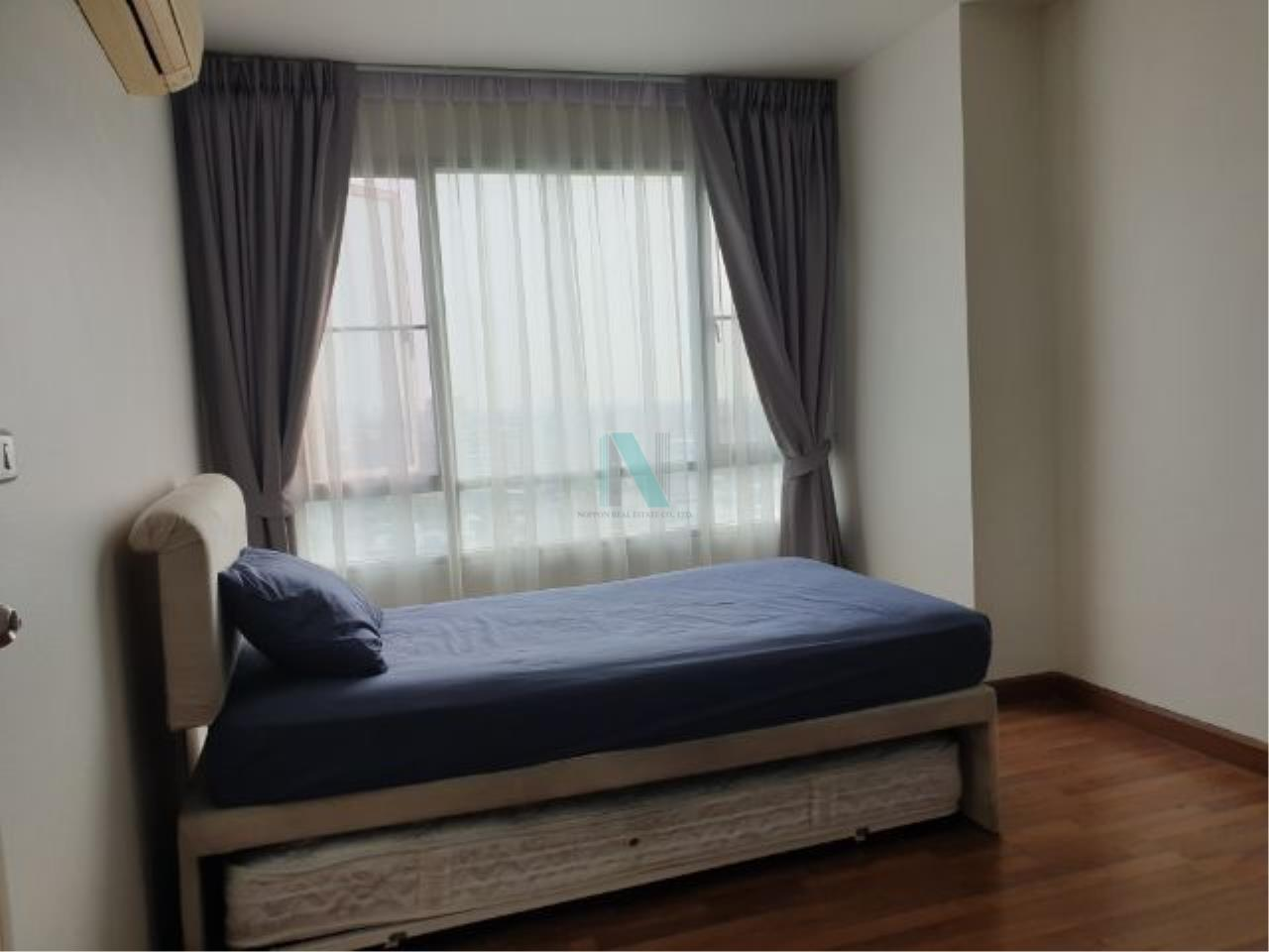 NOPPON REAL ESTATE CO.,LTD.  Agency's For rent Sukhumvit Plus 1 bedroom Floor 12A Building B near BTS Phra Khanong. 3