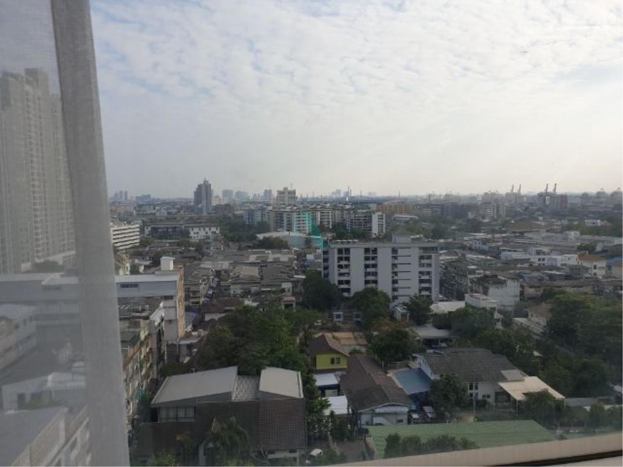 NOPPON REAL ESTATE CO.,LTD.  Agency's For rent Sukhumvit Plus 1 bedroom Floor 12A Building B near BTS Phra Khanong. 7