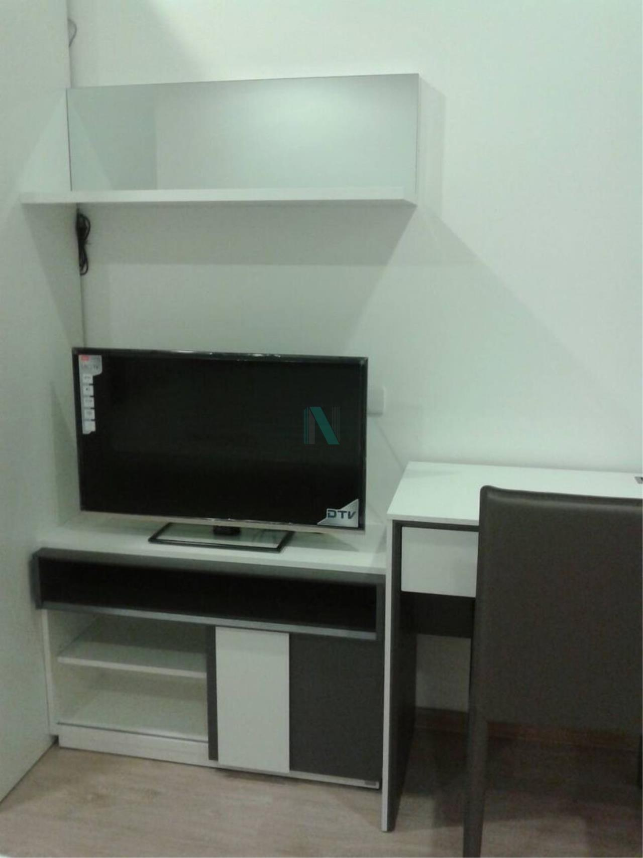 NOPPON REAL ESTATE CO.,LTD. Agency's For rent Ideo Wutthakat STUDIO 18th floor near BTS Wutthakat. 3