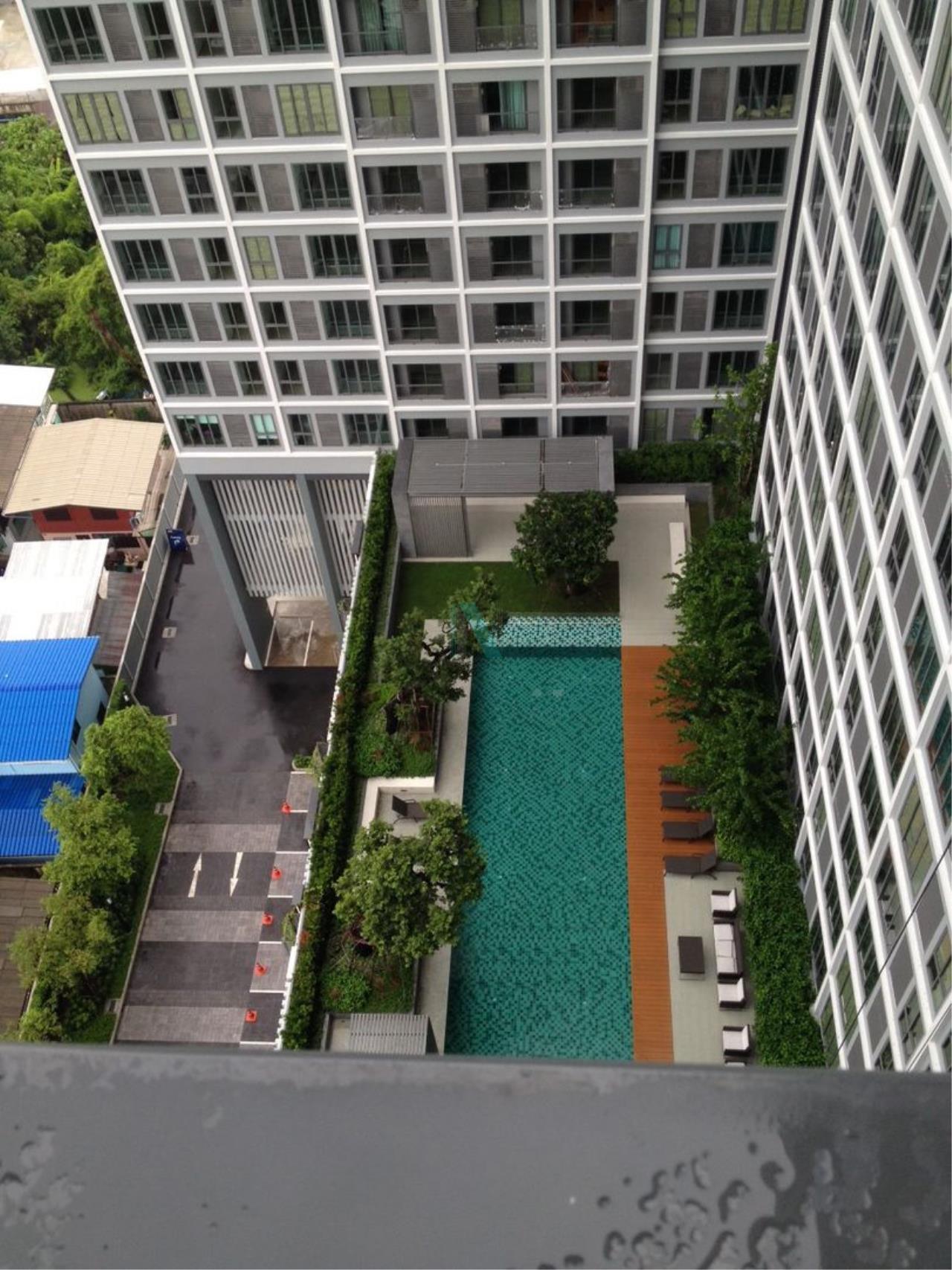 NOPPON REAL ESTATE CO.,LTD. Agency's For rent Ideo Wutthakat STUDIO 18th floor near BTS Wutthakat. 6