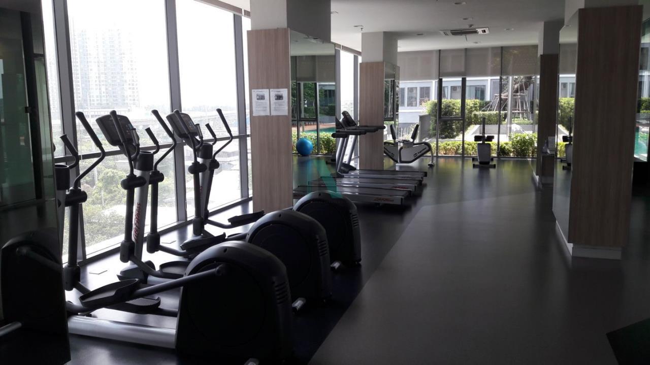 NOPPON REAL ESTATE CO.,LTD. Agency's For rent Ideo Wutthakat STUDIO 18th floor near BTS Wutthakat. 7