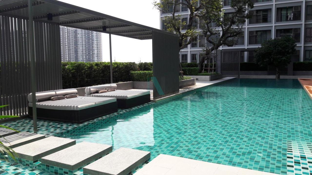 NOPPON REAL ESTATE CO.,LTD. Agency's For rent Ideo Wutthakat STUDIO 18th floor near BTS Wutthakat. 8