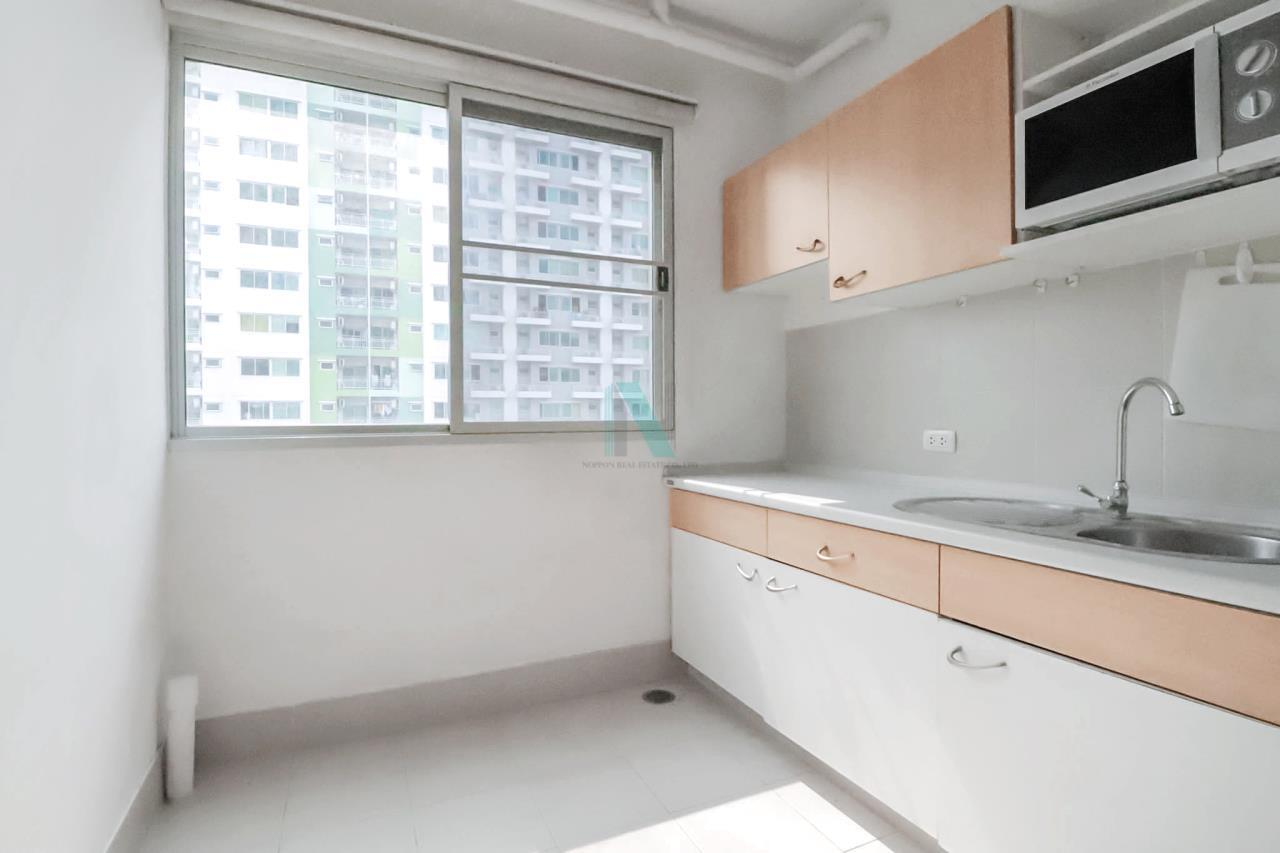 NOPPON REAL ESTATE CO.,LTD. Agency's For rent Supalai Park Tiwanon Intersection 1 bedroom 7th floor Building 1. 2