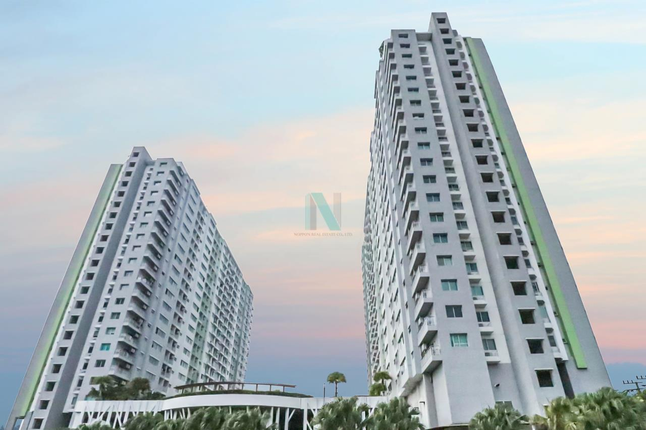 NOPPON REAL ESTATE CO.,LTD. Agency's For rent Supalai Park Tiwanon Intersection 1 bedroom 7th floor Building 1. 7