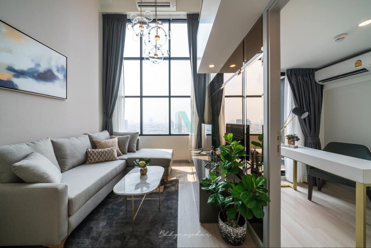 NOPPON REAL ESTATE CO.,LTD. Agency's For rent Knightsbridge Prime Sathorn DUPLEX Floor 30 near BTS Chong Nonsi. 4
