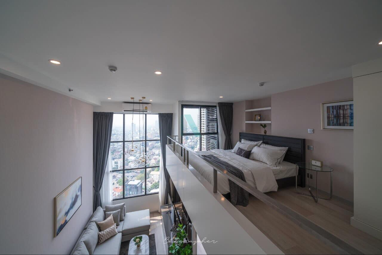 NOPPON REAL ESTATE CO.,LTD. Agency's For rent Knightsbridge Prime Sathorn DUPLEX Floor 30 near BTS Chong Nonsi. 1