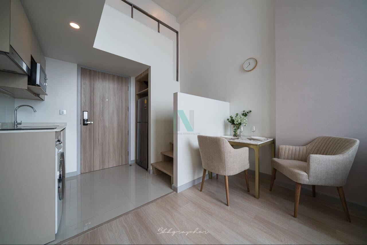 NOPPON REAL ESTATE CO.,LTD. Agency's For rent Knightsbridge Prime Sathorn DUPLEX Floor 30 near BTS Chong Nonsi. 3