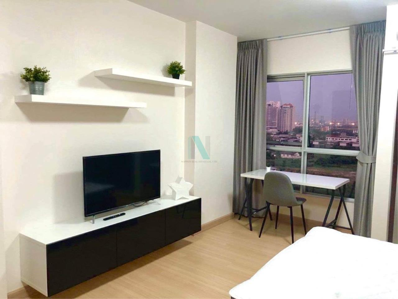 NOPPON REAL ESTATE CO.,LTD. Agency's For rent Supalai Veranda Rama 9 STUDIO 12th floor Building B. 2