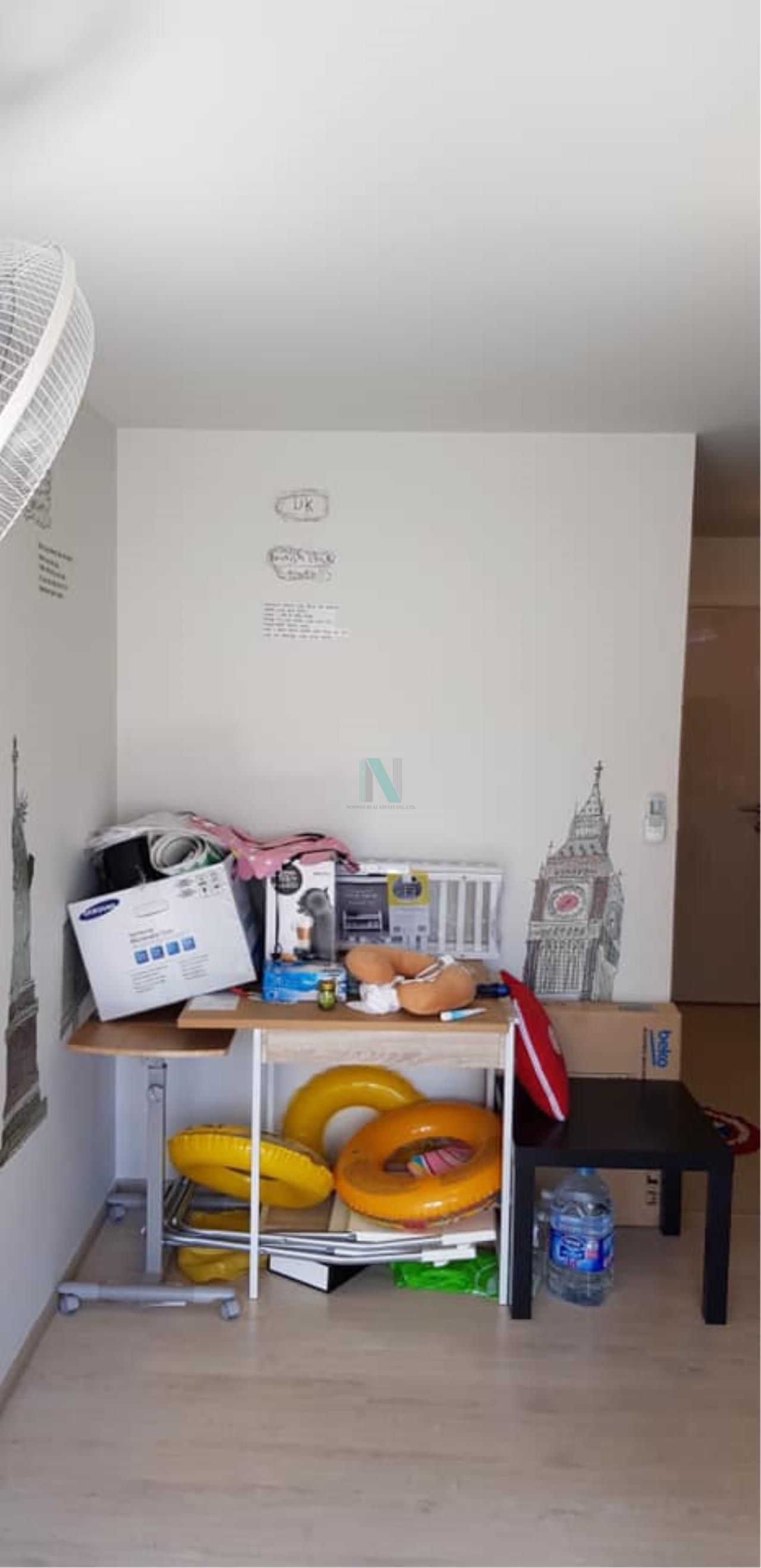 NOPPON REAL ESTATE CO.,LTD. Agency's For rent Aspire Wutthakat STUDIO 8th floor near BTS Wutthakat. 7