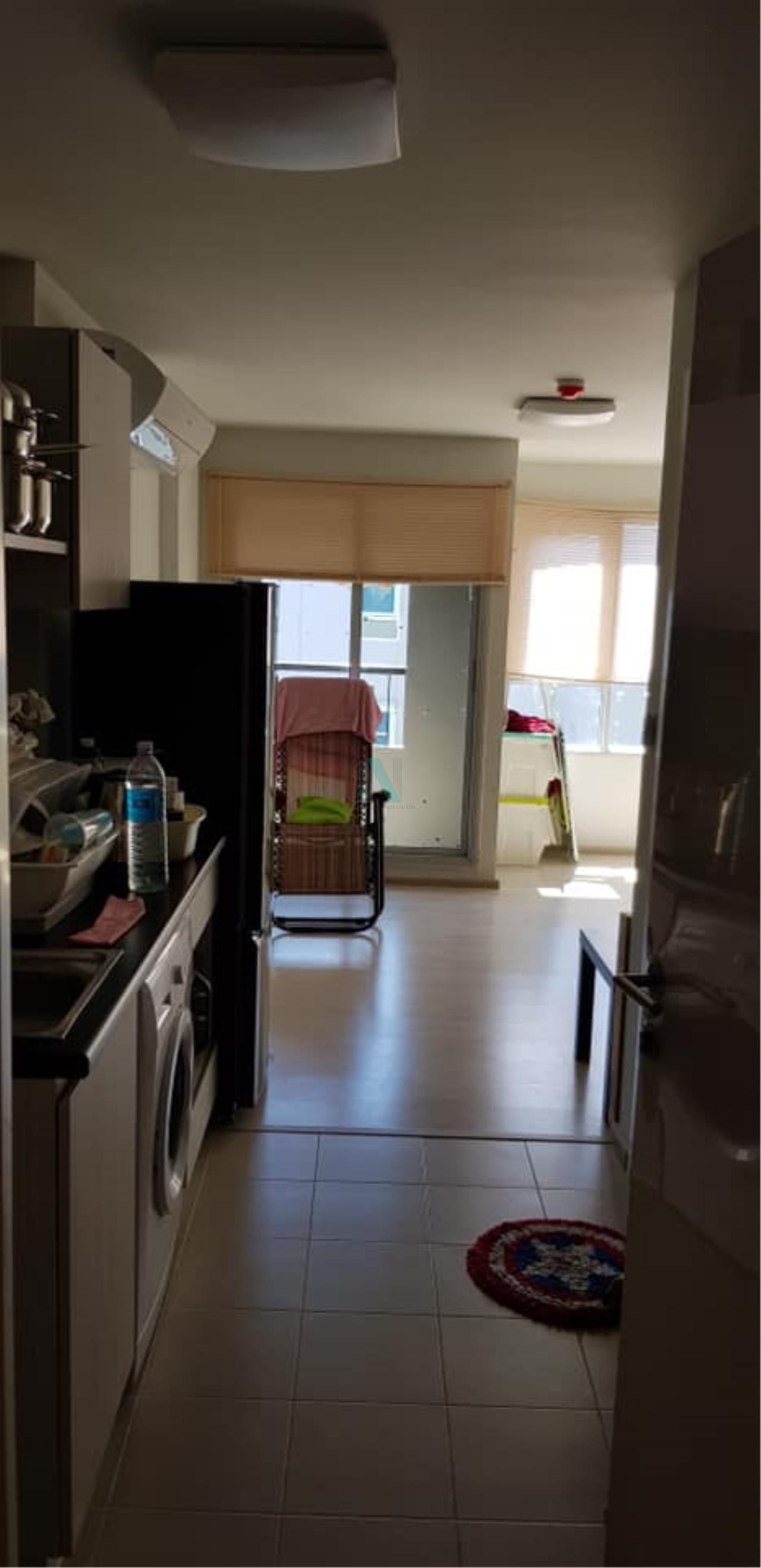 NOPPON REAL ESTATE CO.,LTD. Agency's For rent Aspire Wutthakat STUDIO 8th floor near BTS Wutthakat. 8