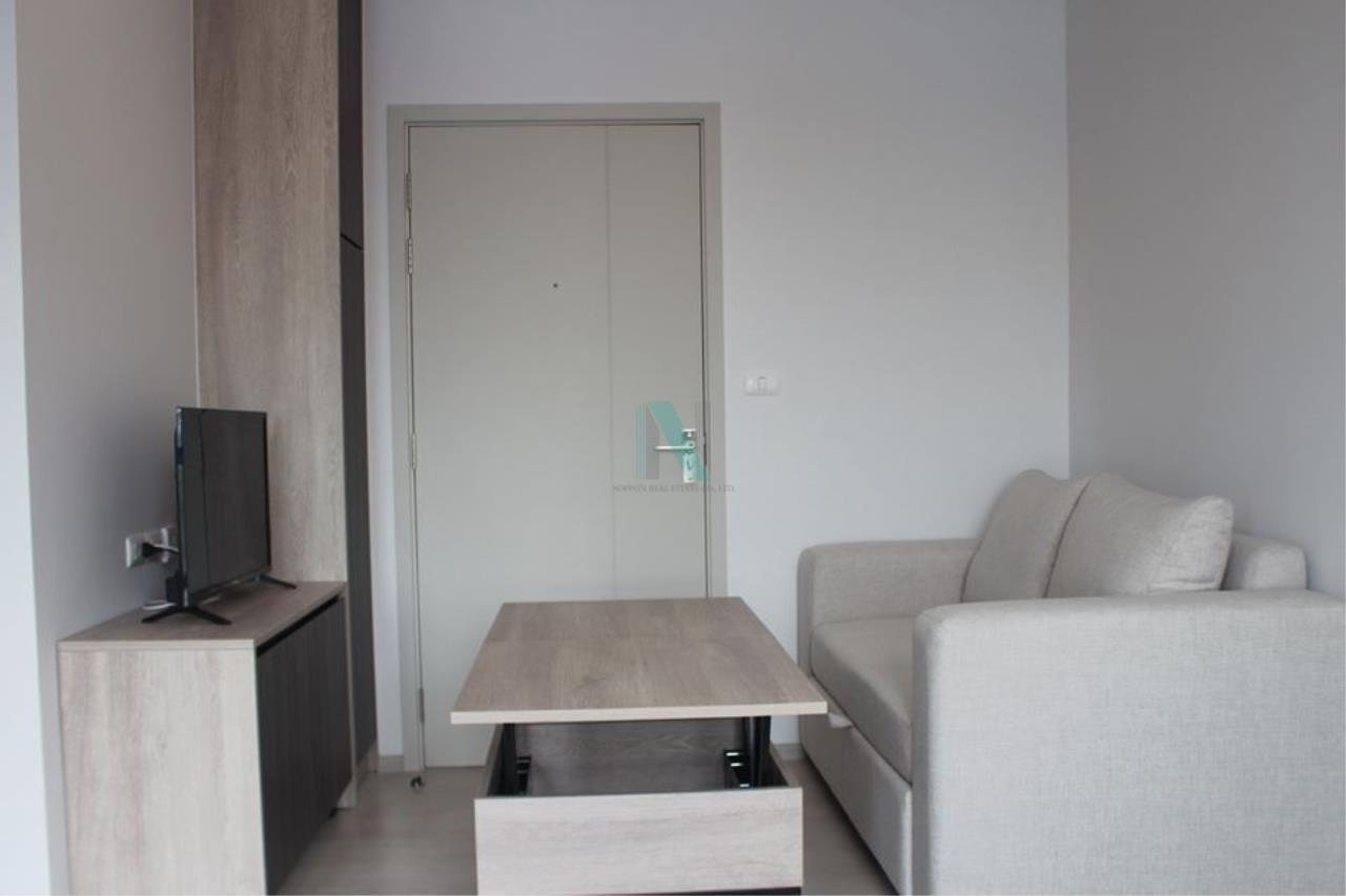 NOPPON REAL ESTATE CO.,LTD. Agency's For Rent Unio Sukhumvit 72 STUDIO 3rd Floor Building B near BTS Bearing. 7