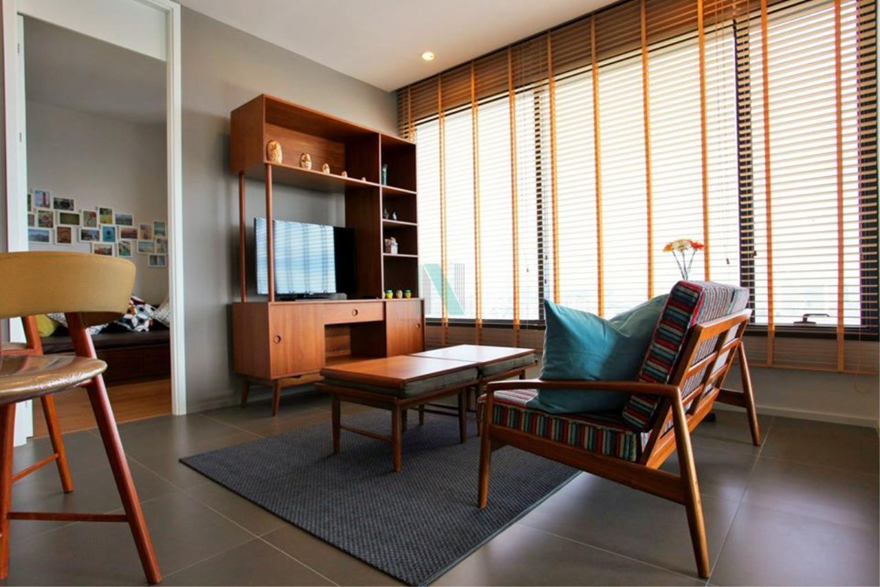 NOPPON REAL ESTATE CO.,LTD. Agency's For rent M Ladprao 2 bedroom 24th floor near MRT Phahon Yothin. 1