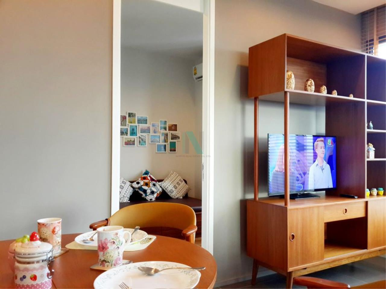 NOPPON REAL ESTATE CO.,LTD. Agency's For rent M Ladprao 2 bedroom 24th floor near MRT Phahon Yothin. 3