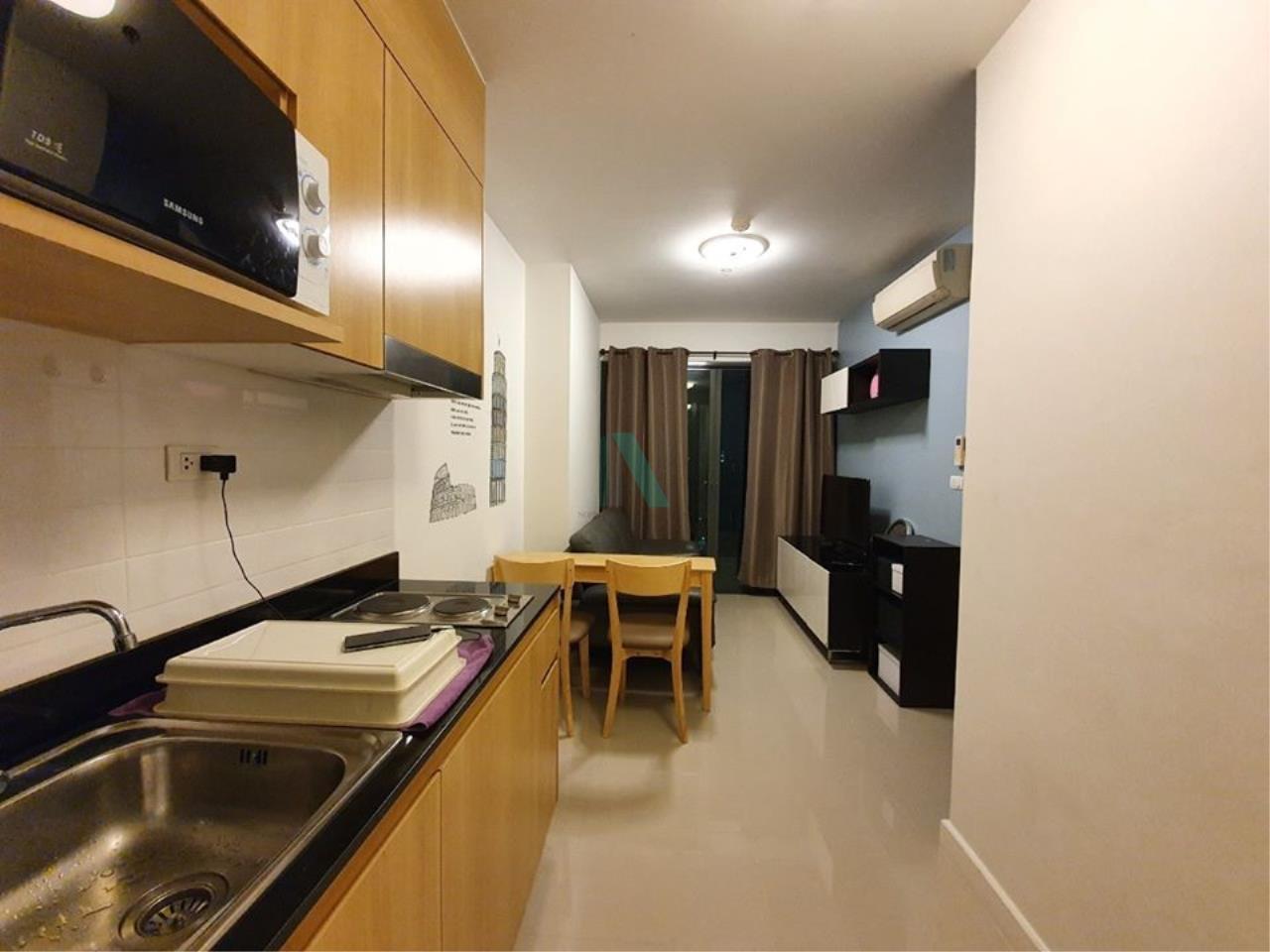 NOPPON REAL ESTATE CO.,LTD.  Agency's For rent Ideo Blucove Sukhumvit 1 bedroom 12th floor near BTS Udom Suk. 1