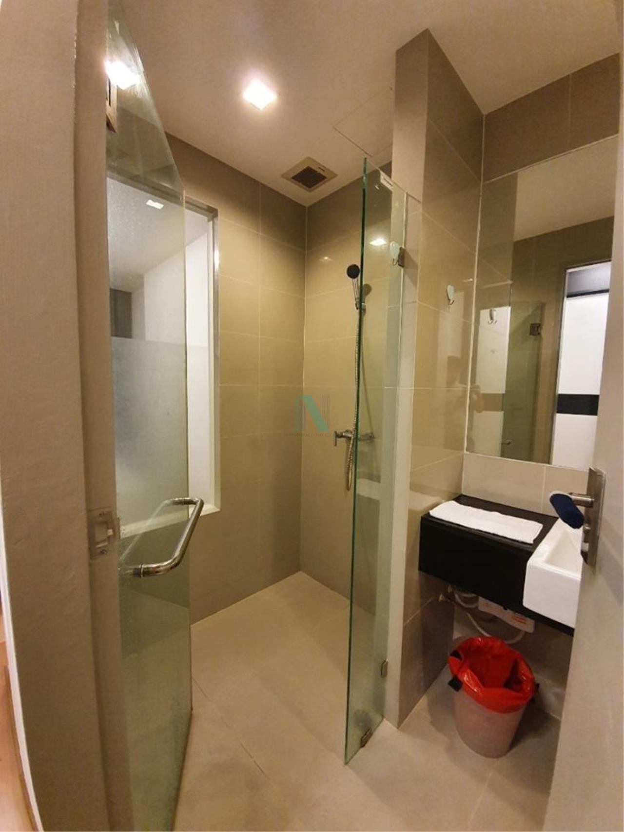 NOPPON REAL ESTATE CO.,LTD.  Agency's For rent Ideo Blucove Sukhumvit 1 bedroom 12th floor near BTS Udom Suk. 7