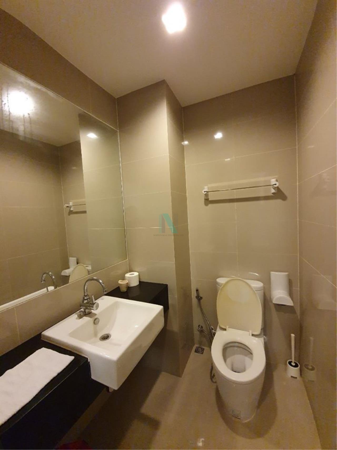 NOPPON REAL ESTATE CO.,LTD.  Agency's For rent Ideo Blucove Sukhumvit 1 bedroom 12th floor near BTS Udom Suk. 8