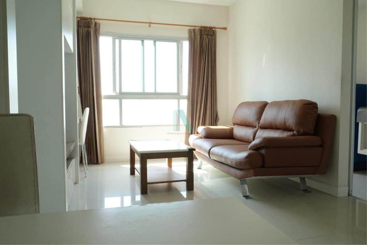 NOPPON REAL ESTATE CO.,LTD.  Agency's For rent Q House Sathorn 1 bedroom 24th floor near BTS Krung Thon Buri. 8